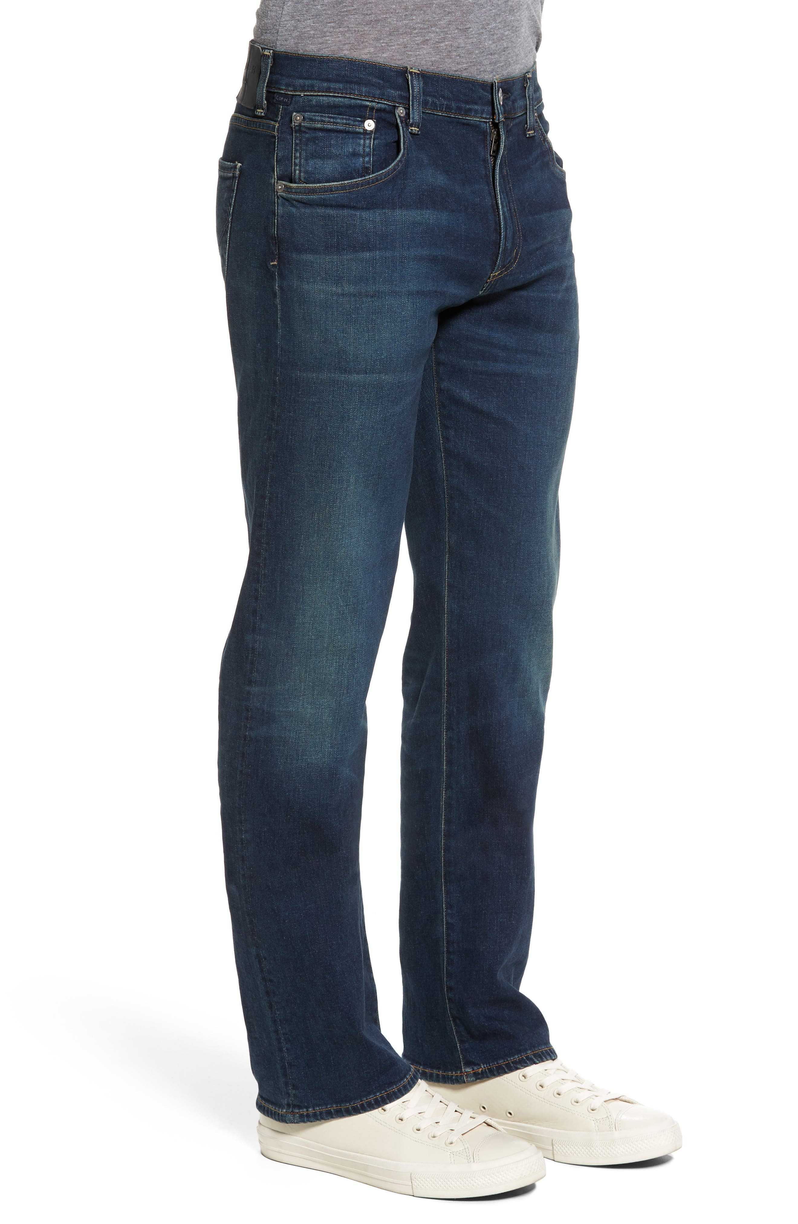 Sid Straight Leg Jeans,                             Alternate thumbnail 3, color,                             402