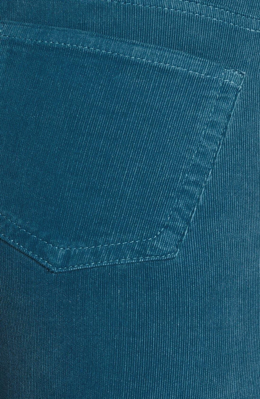 'Diana' Stretch Corduroy Skinny Pants,                             Alternate thumbnail 139, color,