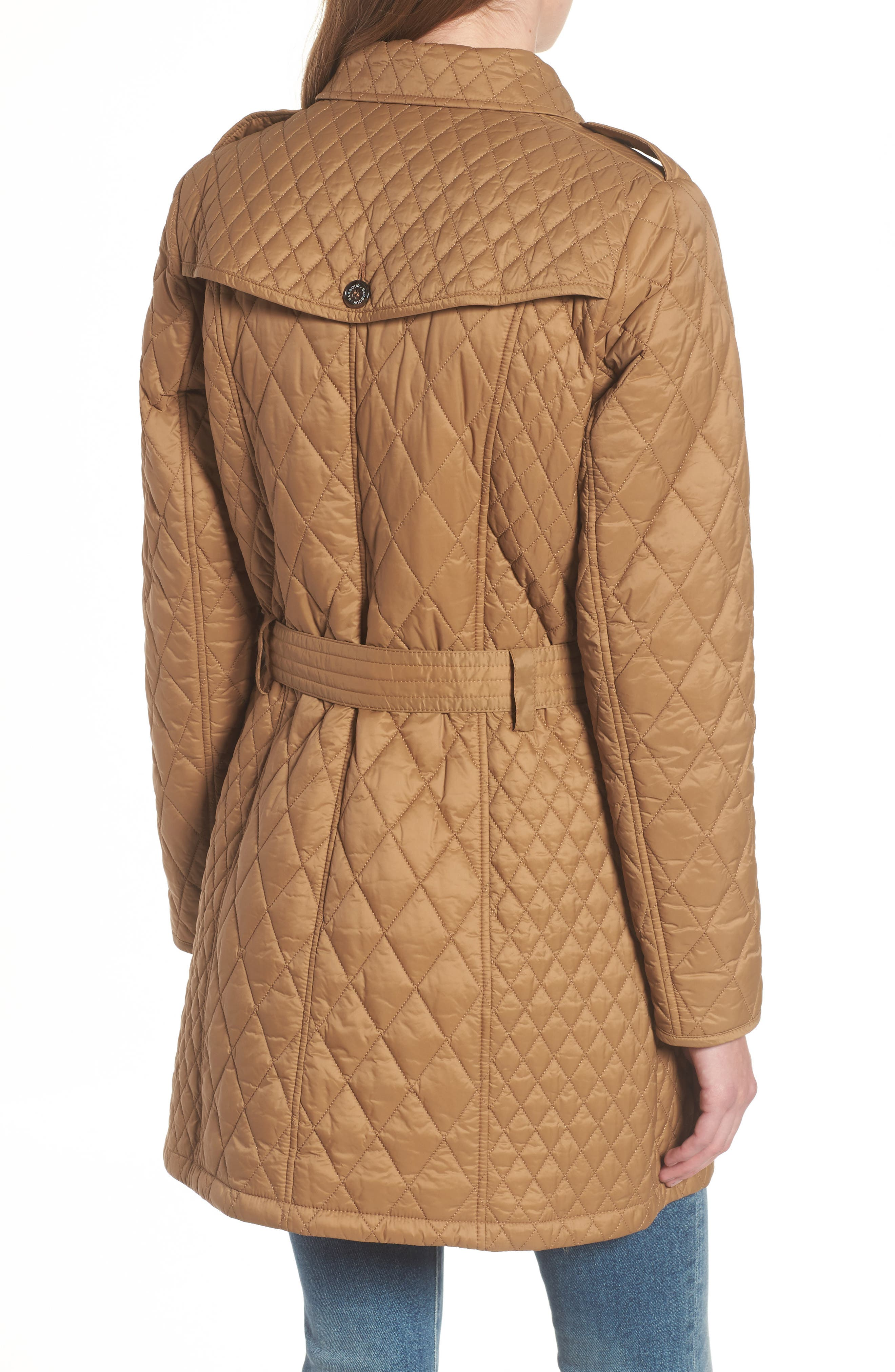 Hailes Quilted Trench Jacket,                             Alternate thumbnail 2, color,                             260