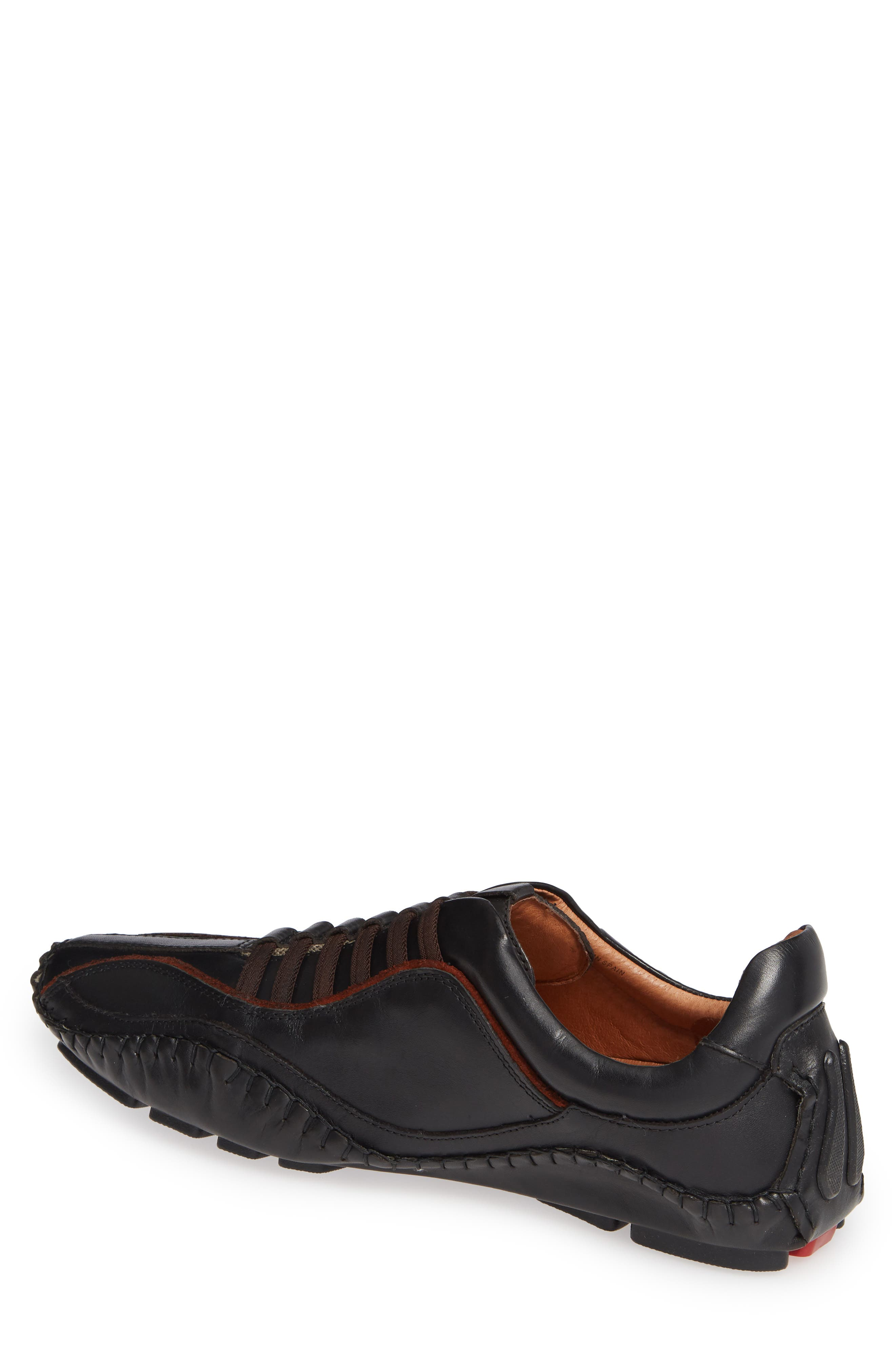 'Fuencarral' Driving Shoe,                             Alternate thumbnail 2, color,                             BLACK
