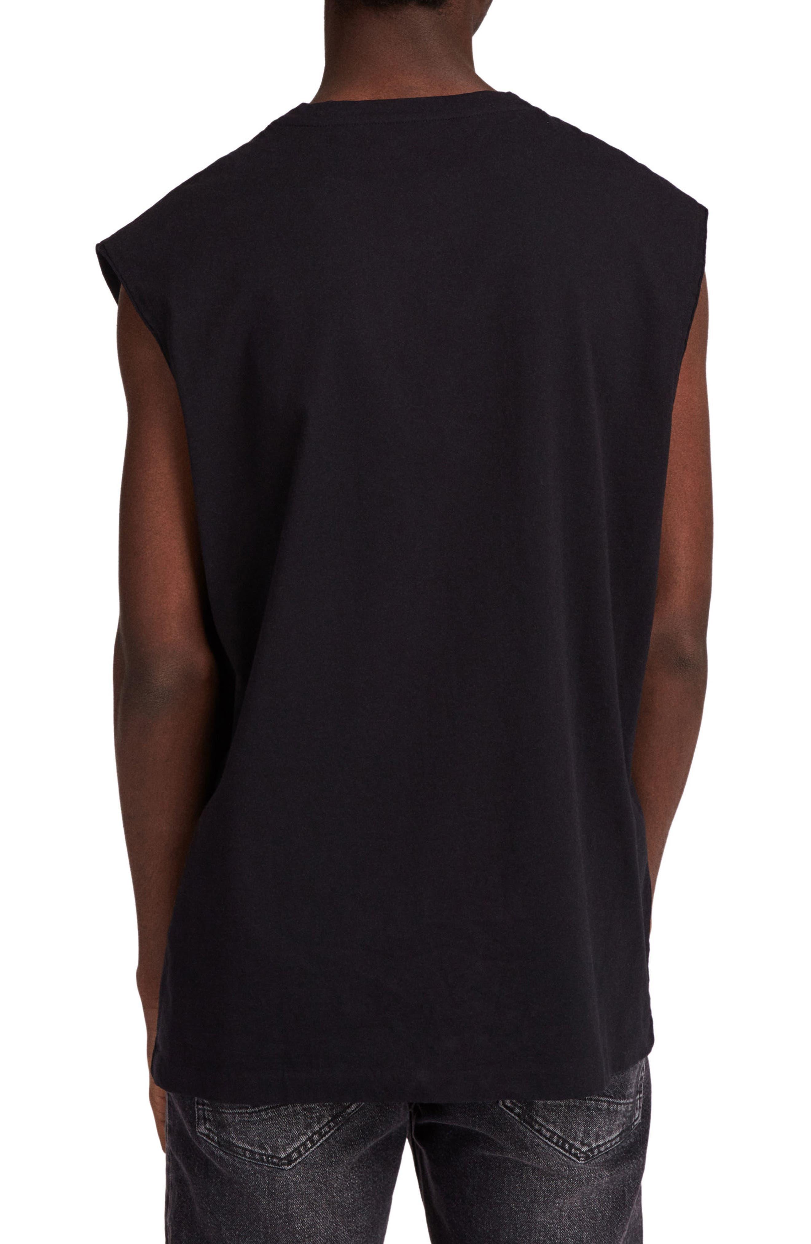 Heton Sleeveless T-Shirt,                             Alternate thumbnail 2, color,                             001