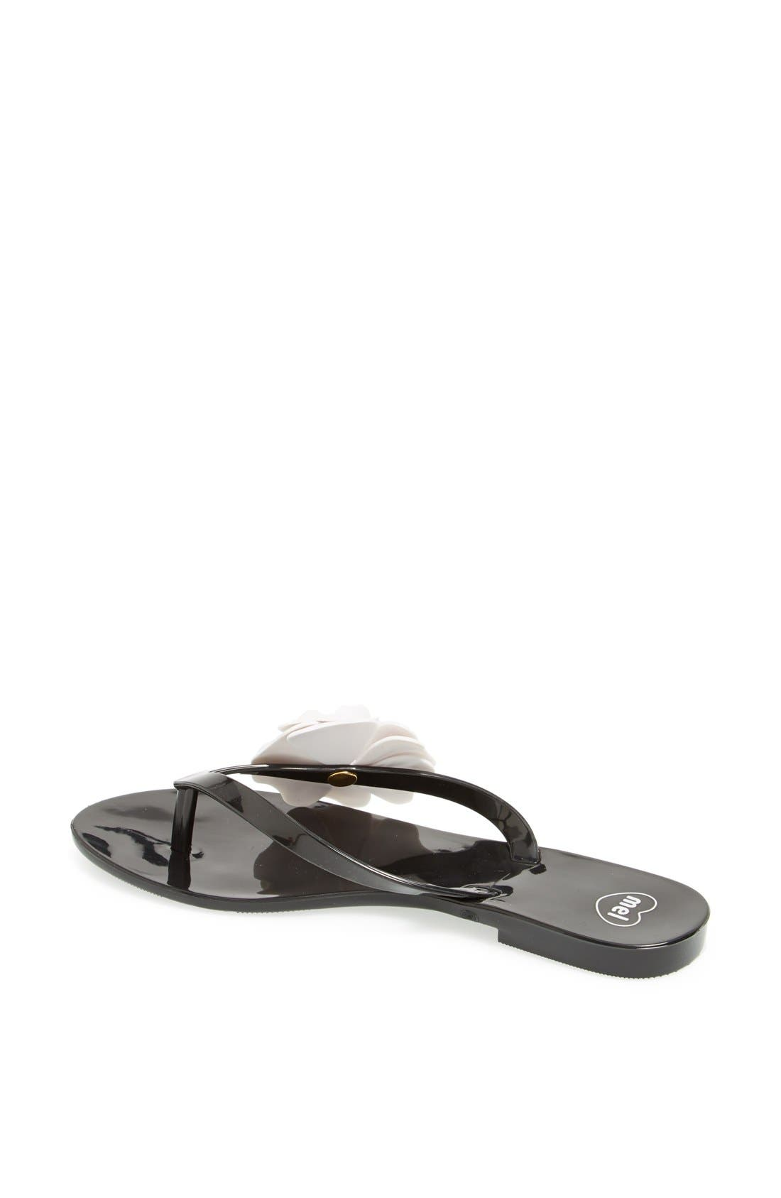 MEL BY MELISSA,                             'Honey III' Flip Flop,                             Alternate thumbnail 3, color,                             006