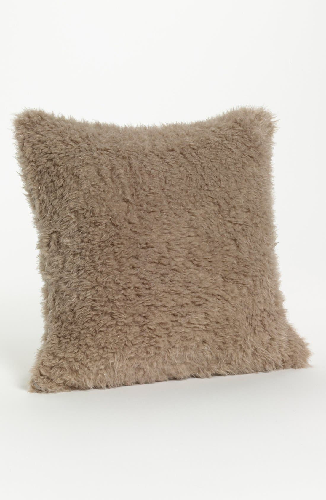 'Bella' Throw Pillow,                             Main thumbnail 1, color,                             FLAX