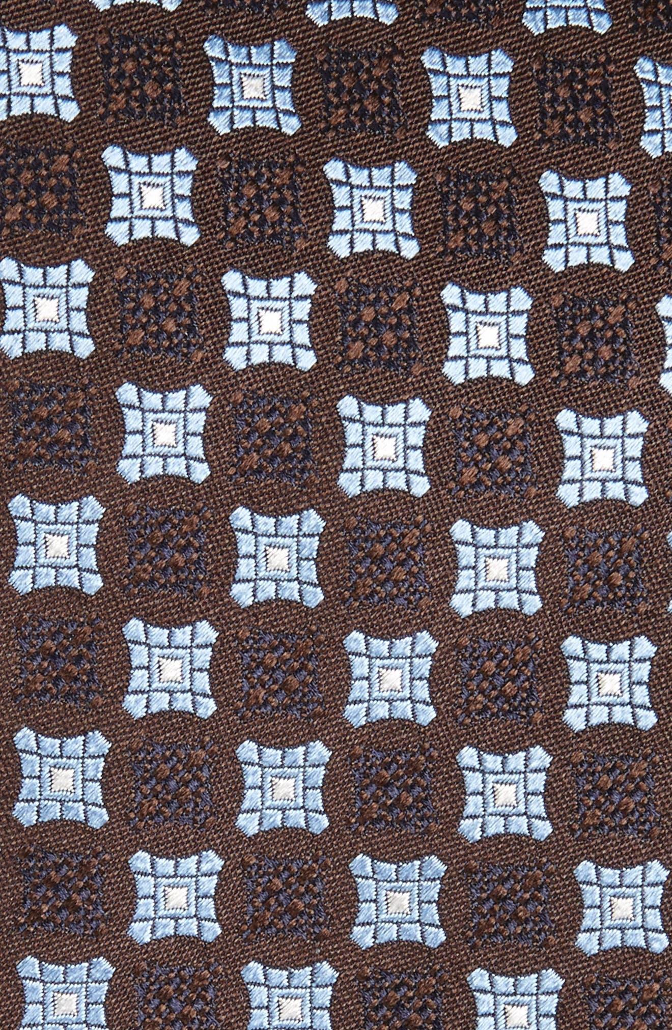 Geometric Silk Tie,                             Alternate thumbnail 10, color,