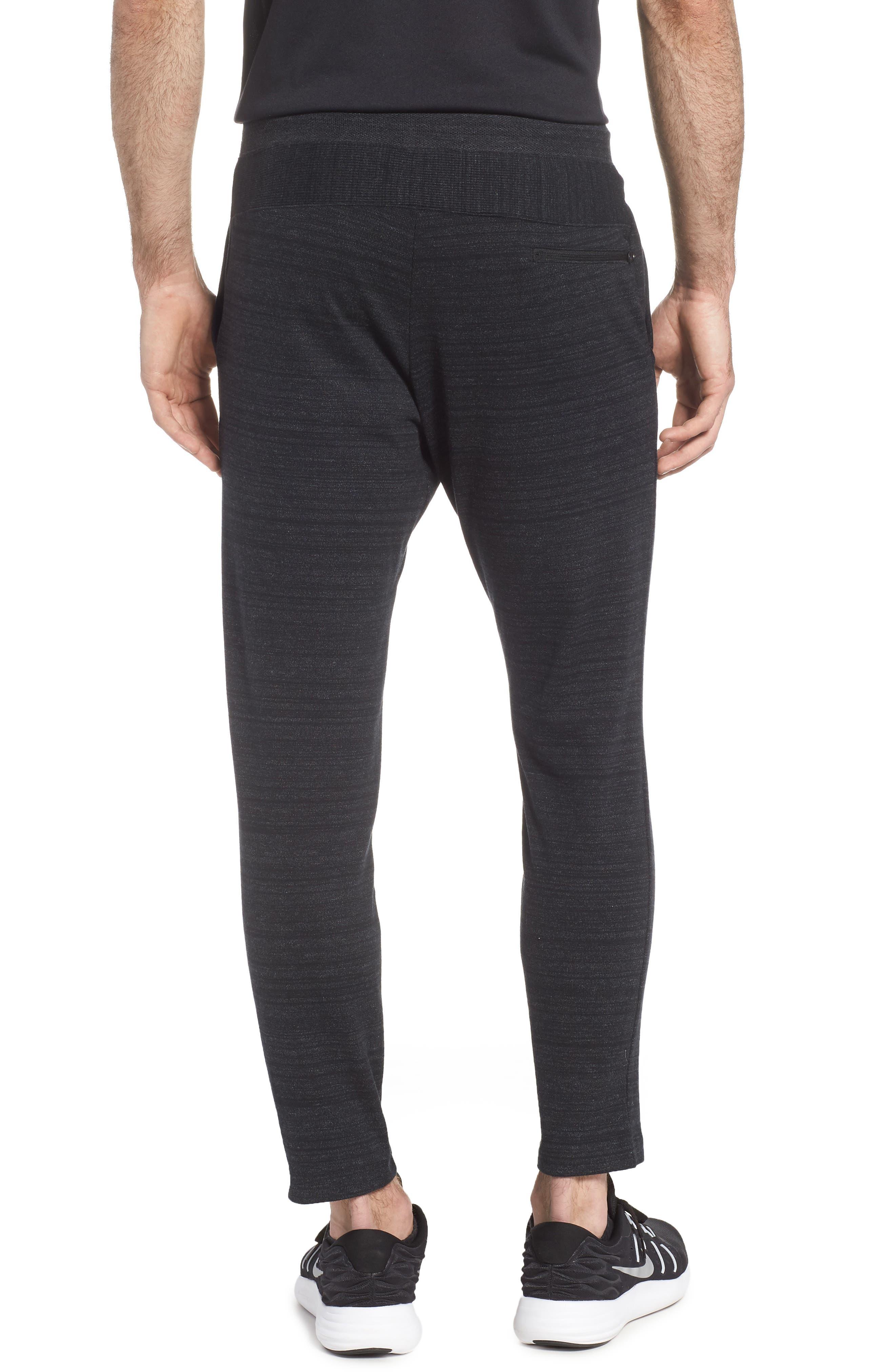NSW Advance 15 Jogger Pants,                             Alternate thumbnail 2, color,                             BLACK/ HEATHER/ WHITE