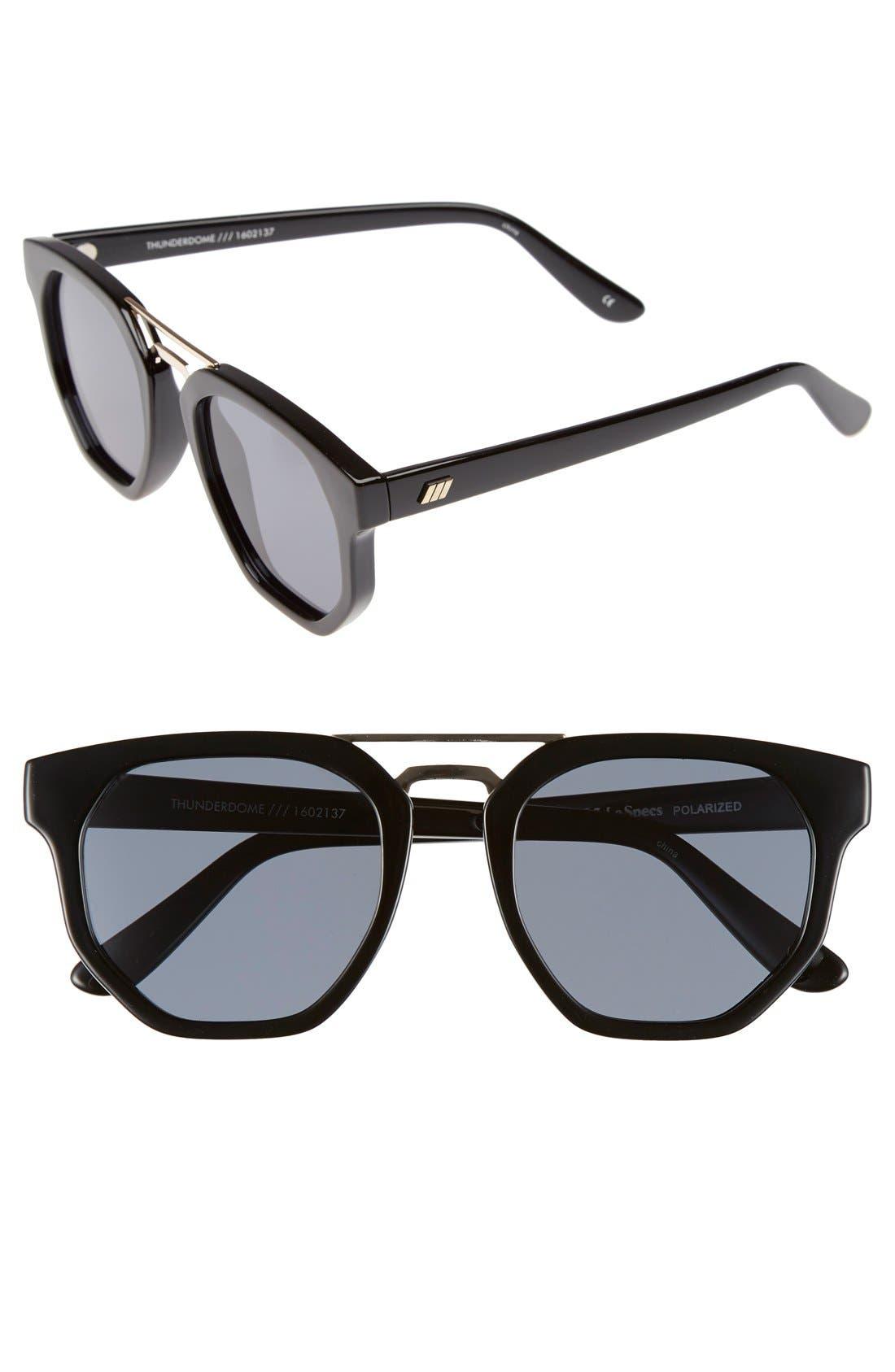 'Thunderdome' 52mm Polarized Sunglasses,                         Main,                         color, 001
