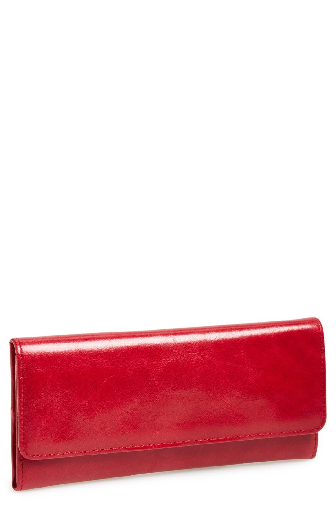 'Sadie' Leather Wallet,                             Main thumbnail 55, color,
