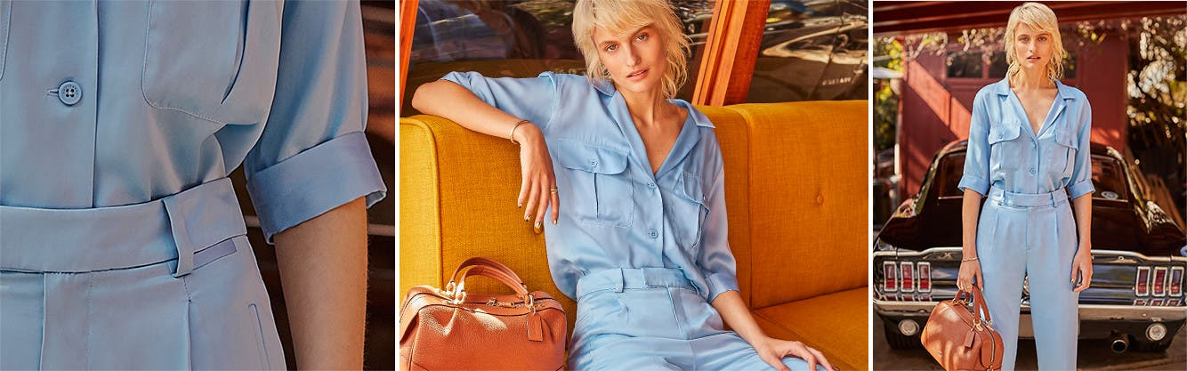 Work wonders: women's warm-weather clothing and accessories.