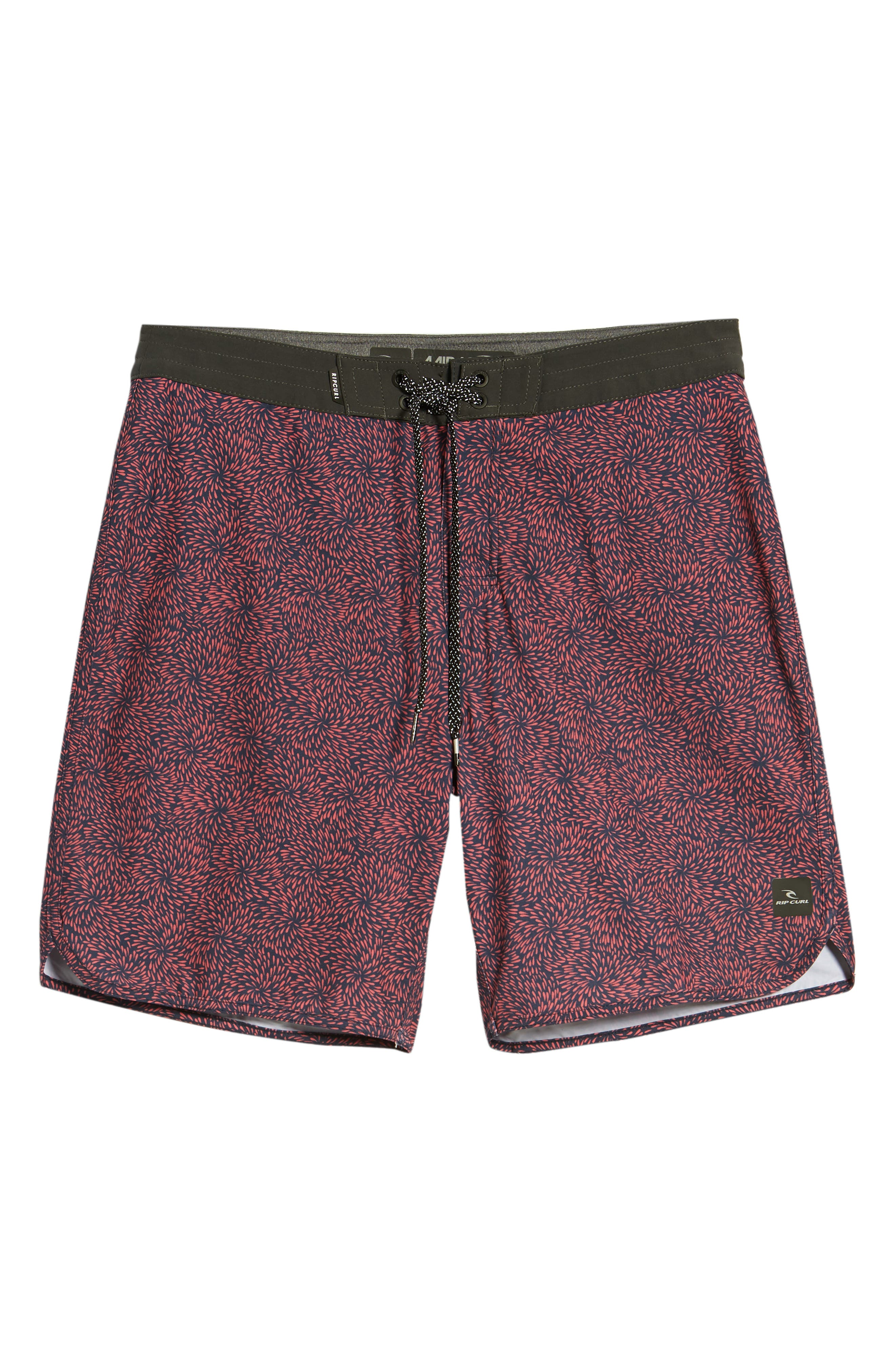 Mirage Conner Spin Out Board Shorts,                             Alternate thumbnail 6, color,                             600