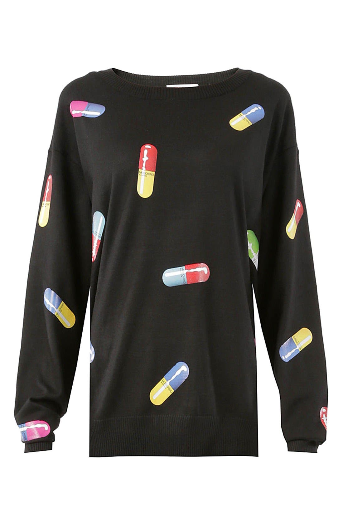Pill Print Sweater,                             Alternate thumbnail 2, color,                             015