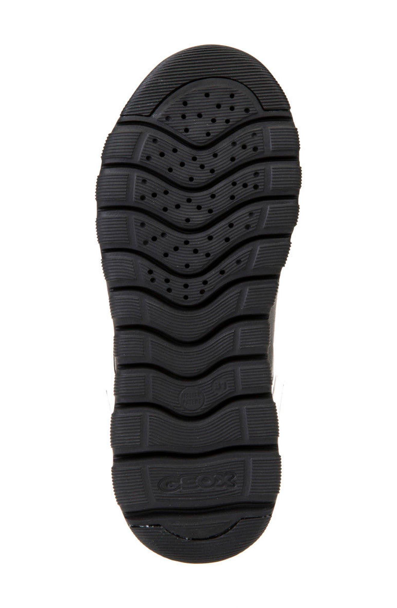Xunday Low Top Sneaker,                             Alternate thumbnail 6, color,                             BLACK