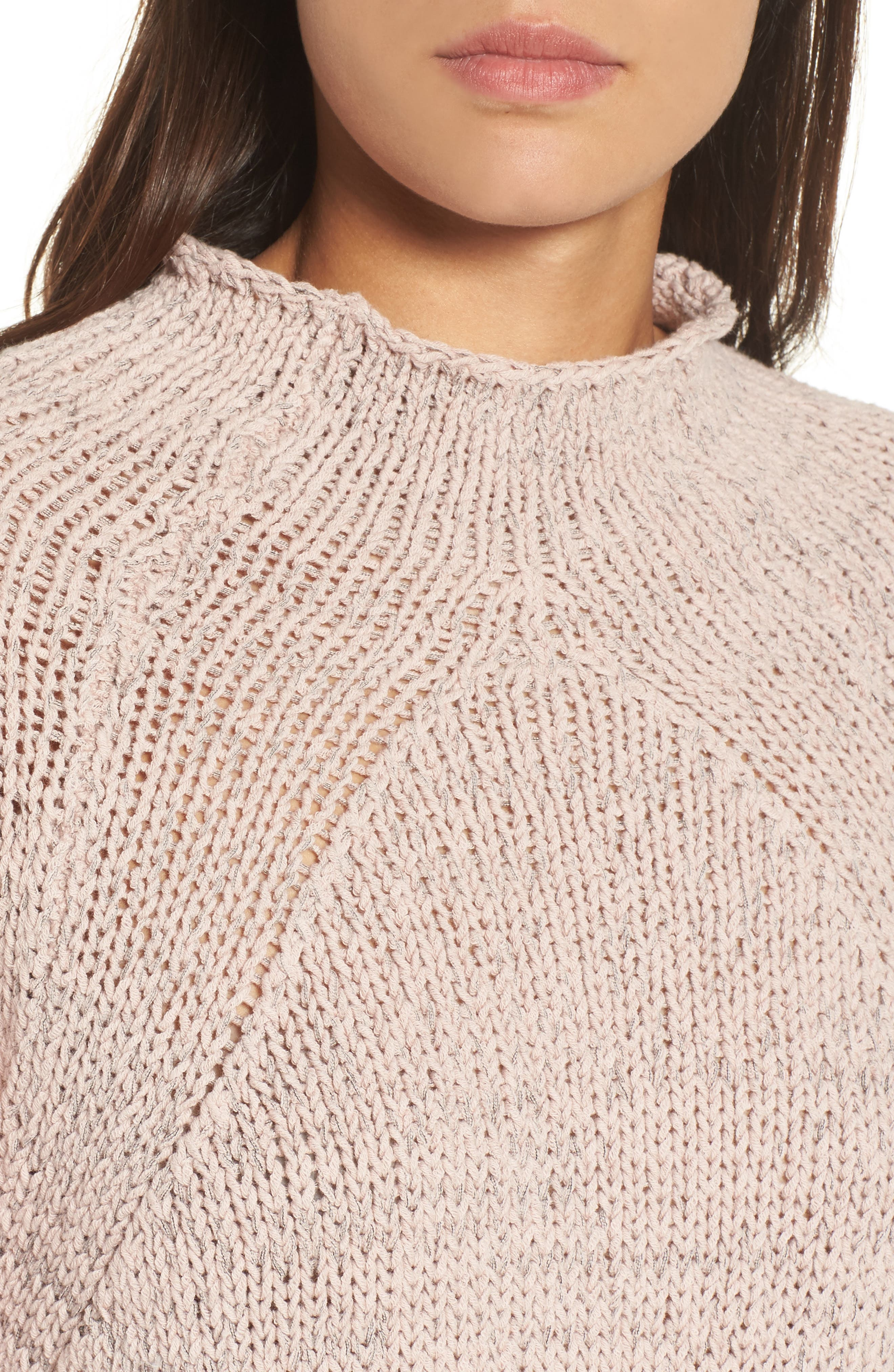 Nic + Zoe Power Move Pullover,                             Alternate thumbnail 4, color,                             653