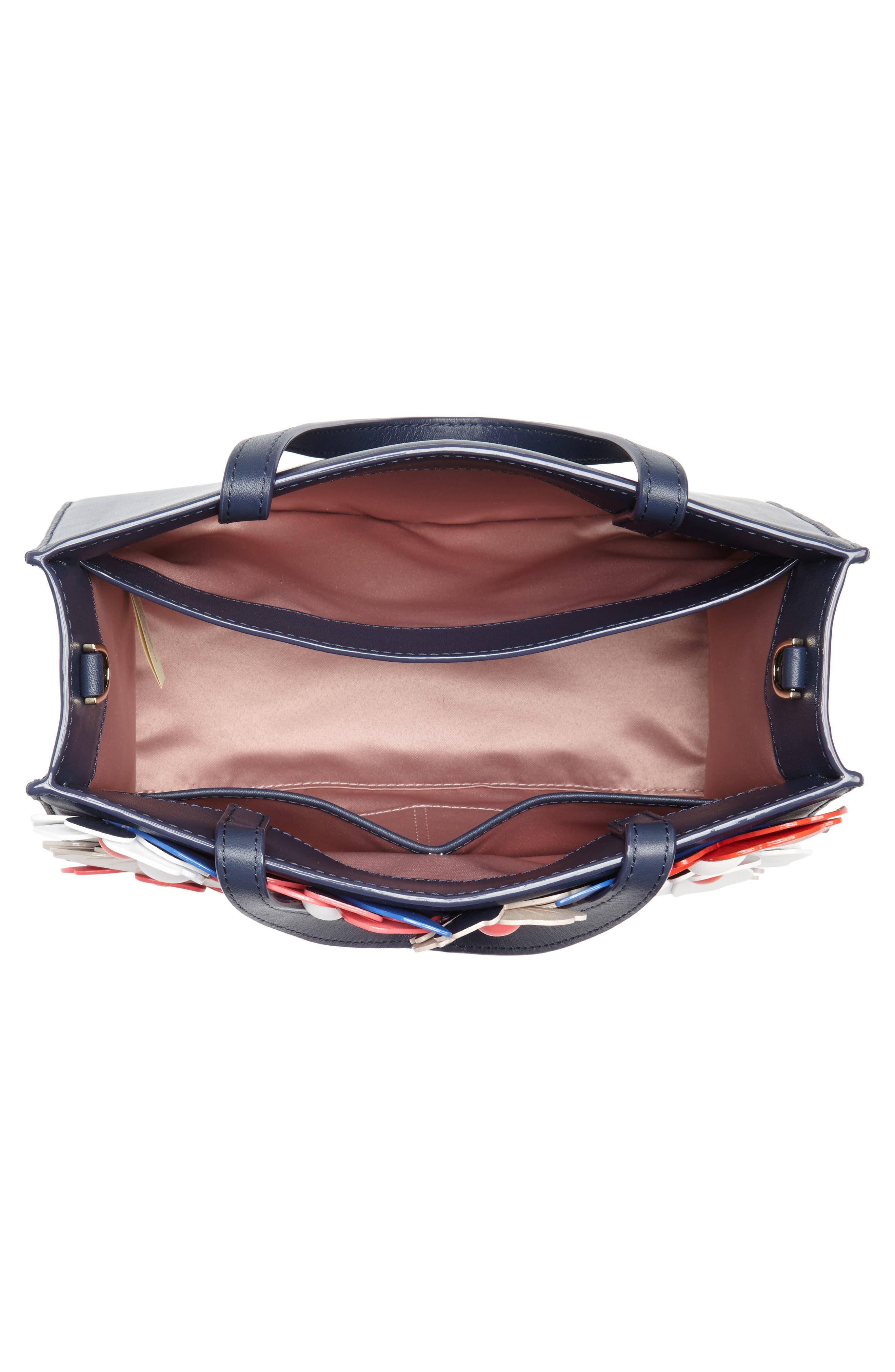 madison daisy lane – sam leather handbag,                             Alternate thumbnail 4, color,                             400