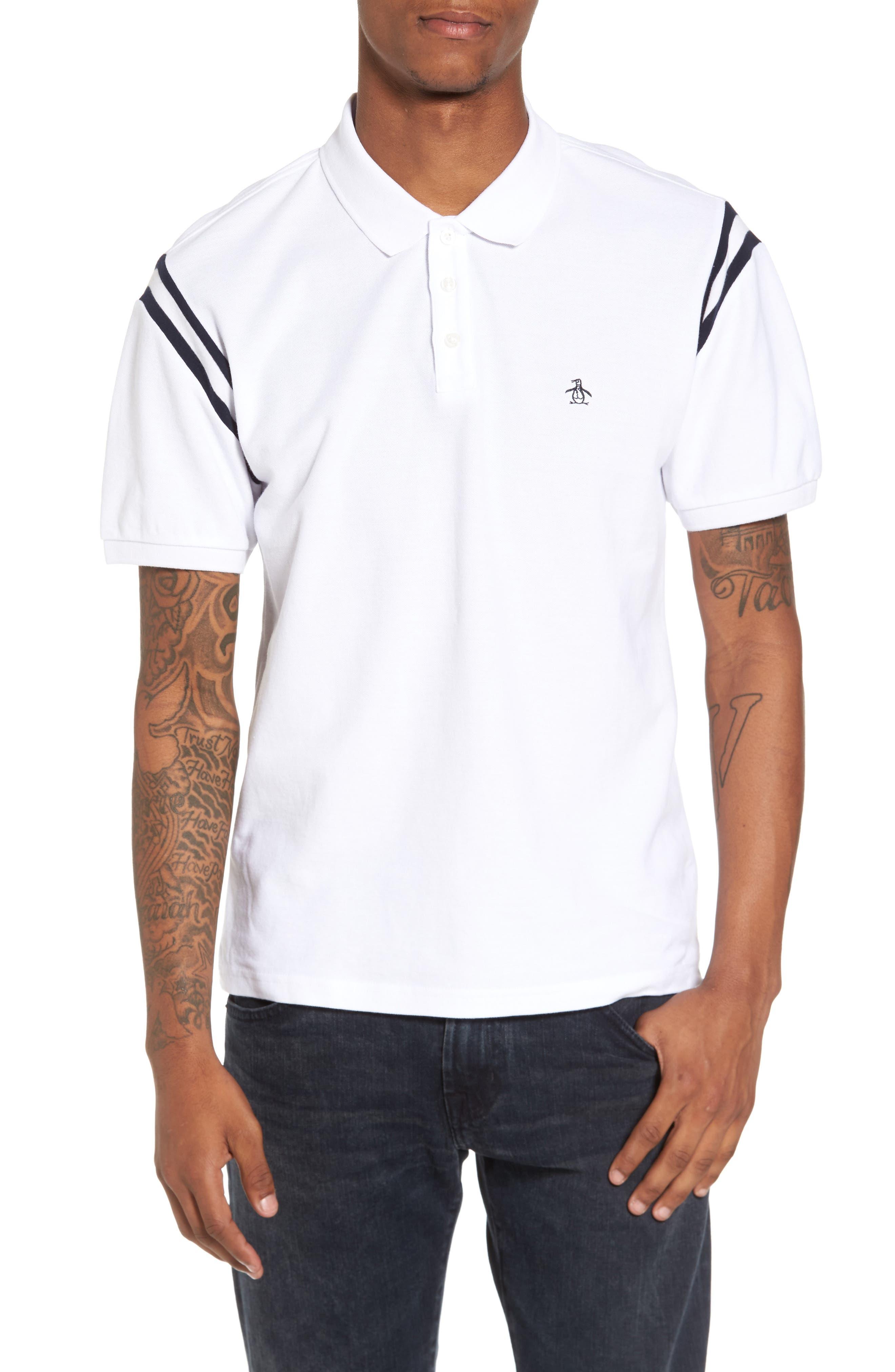 Stripe Polo,                         Main,                         color,