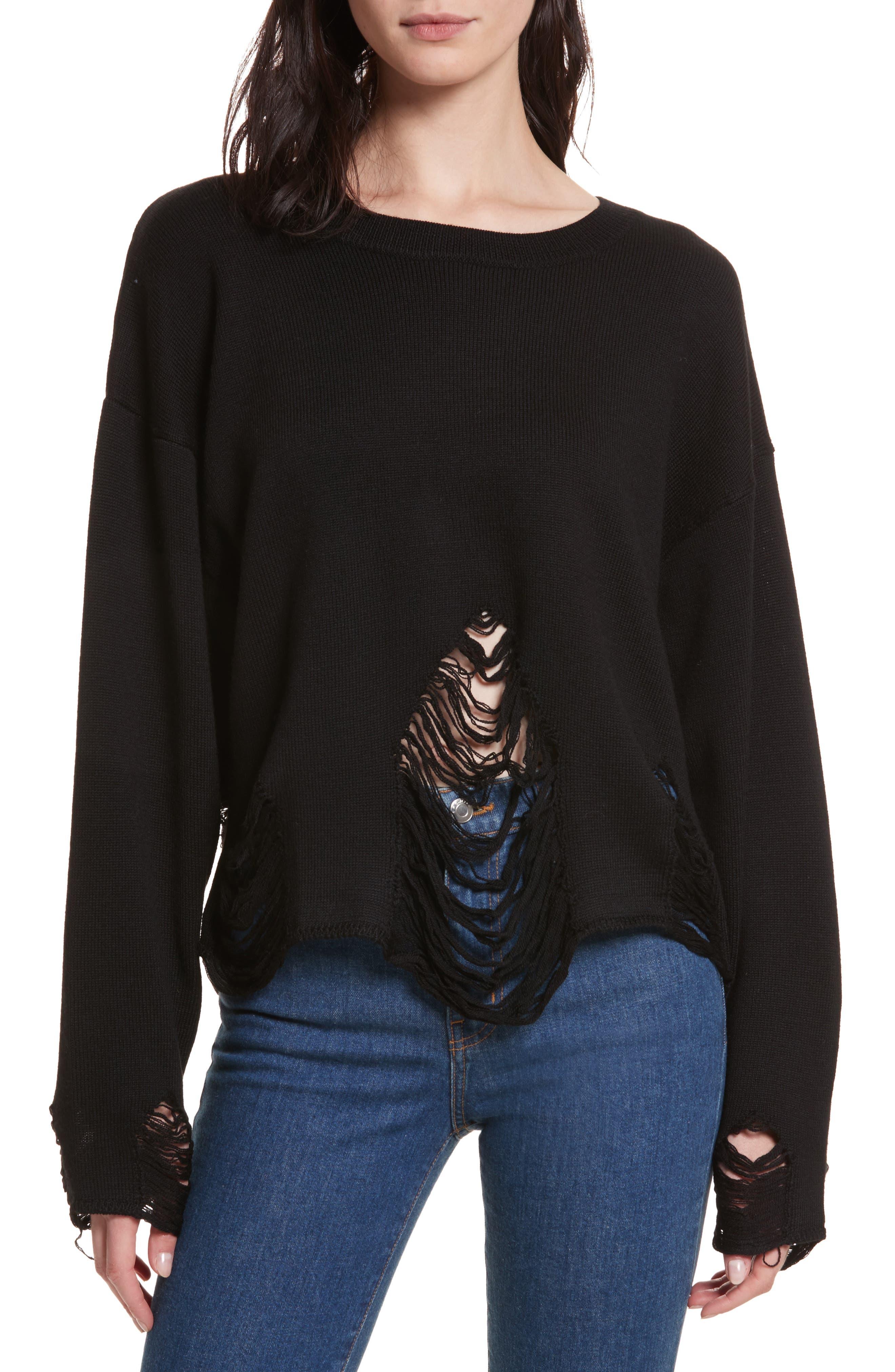 Parola Sweater,                             Main thumbnail 1, color,                             001