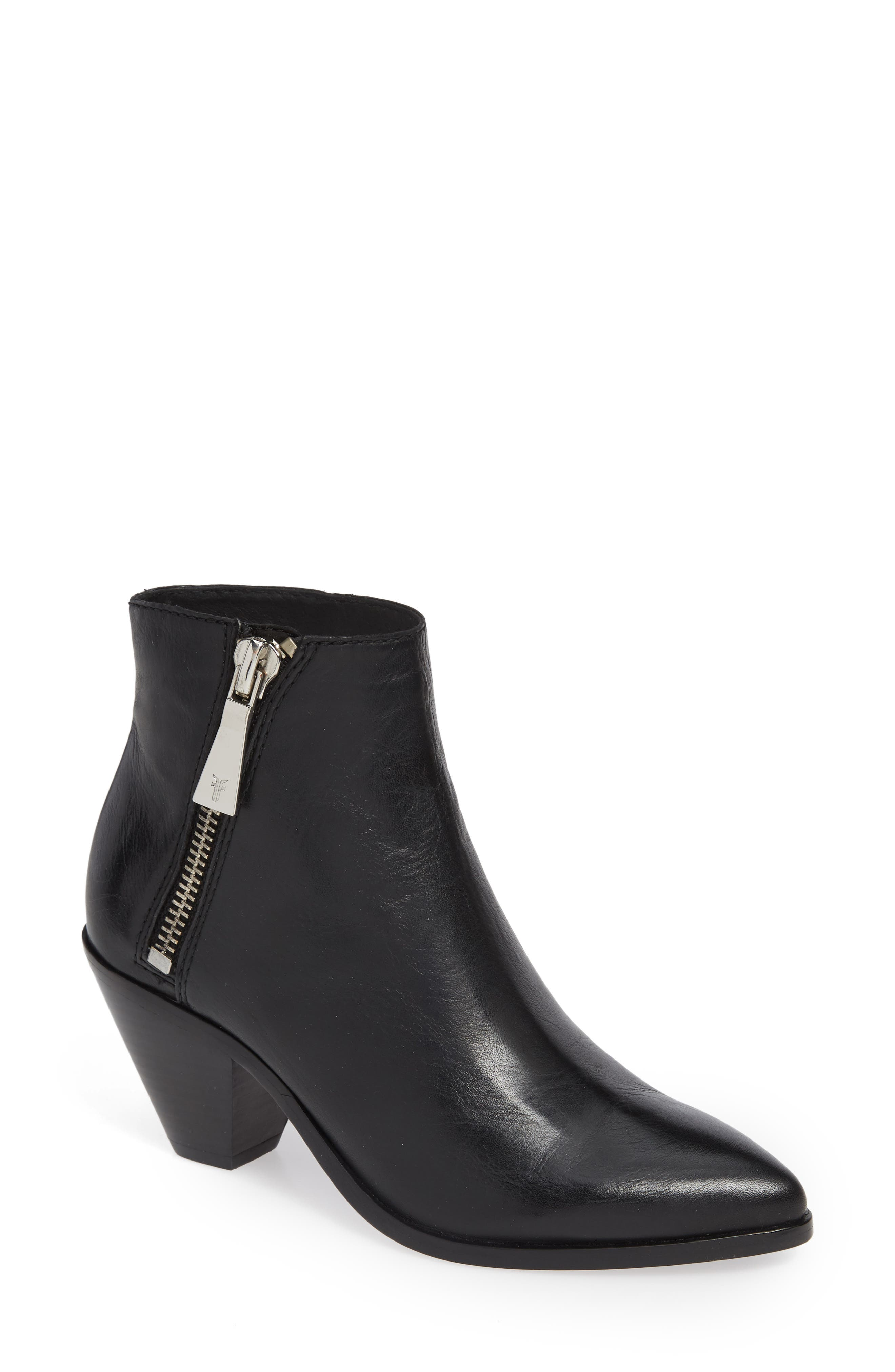 Lila Pointy Toe Bootie,                             Main thumbnail 1, color,                             001