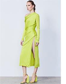 Versace dress.