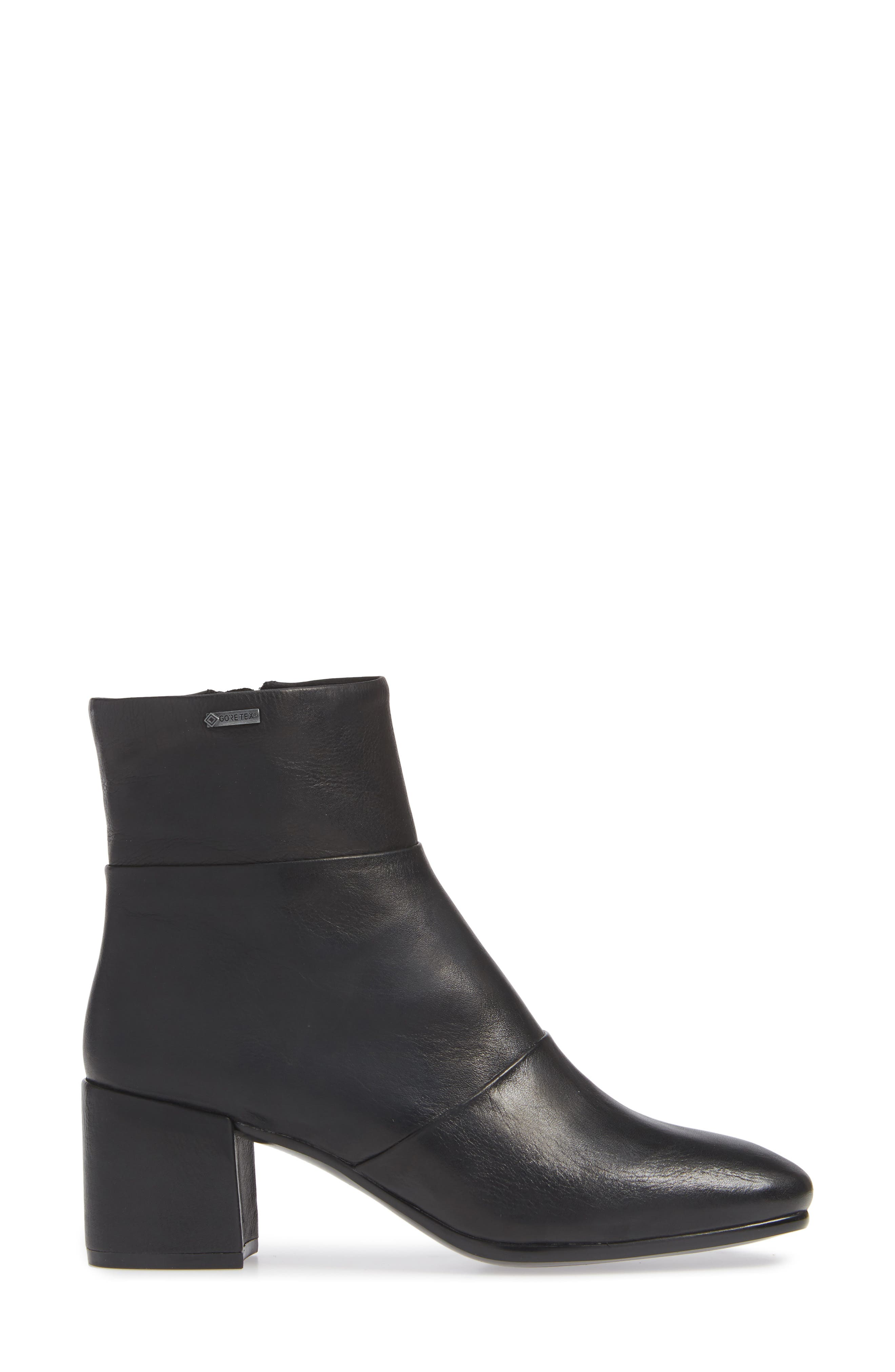 Eryc Bootie,                             Alternate thumbnail 3, color,                             BLACK LEATHER