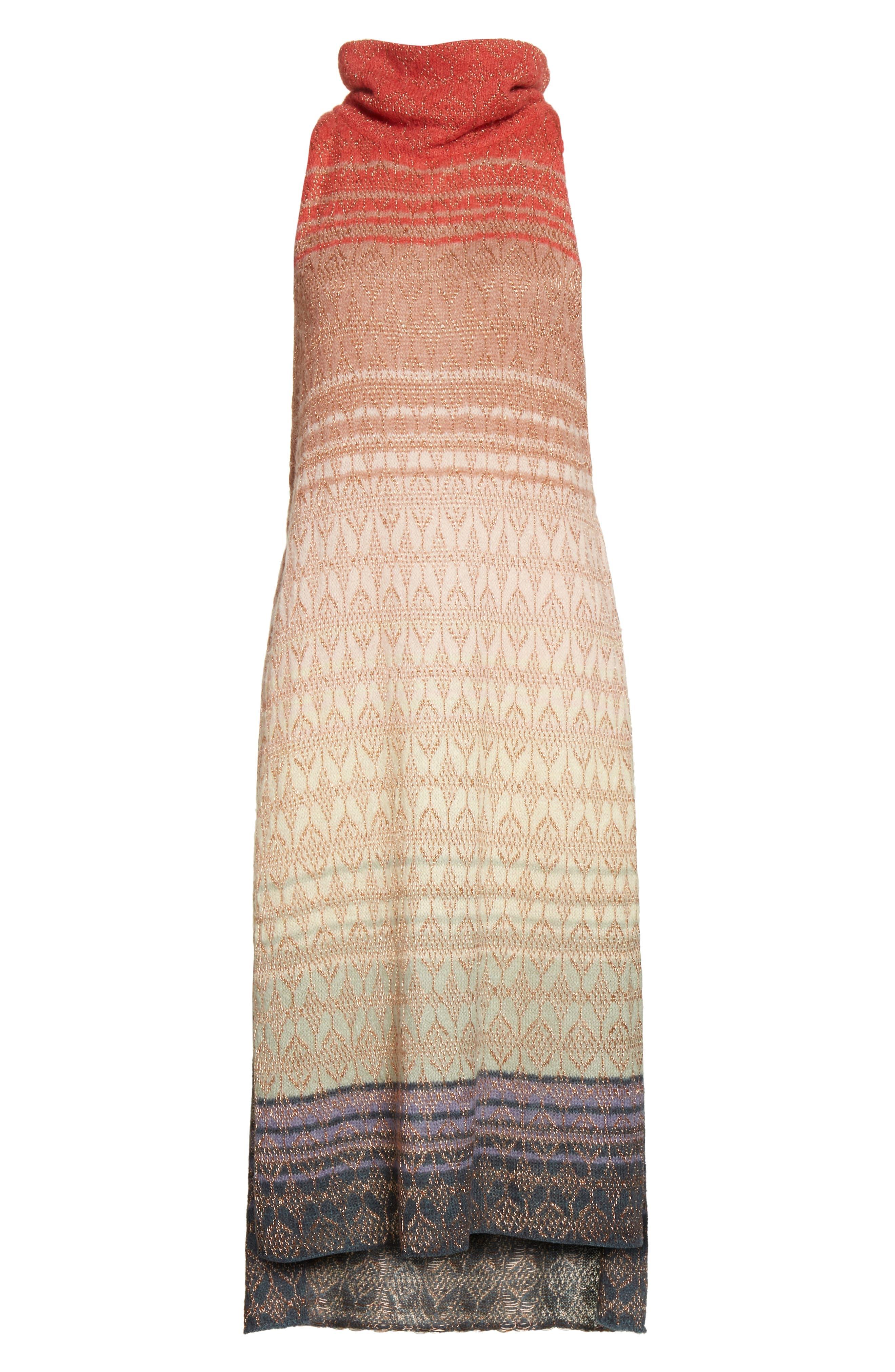 Rainbow Tunic Dress,                             Alternate thumbnail 6, color,                             907
