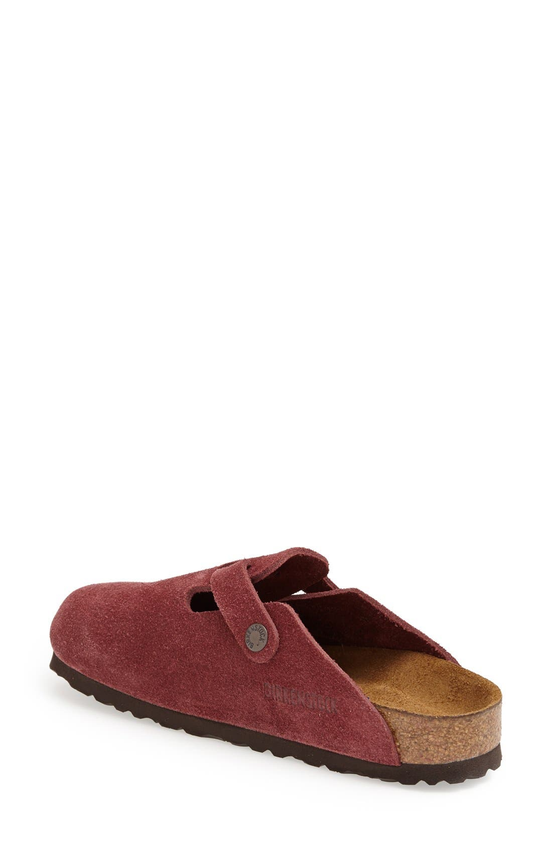 'Boston' Classic Oiled Leather Clog,                             Alternate thumbnail 24, color,