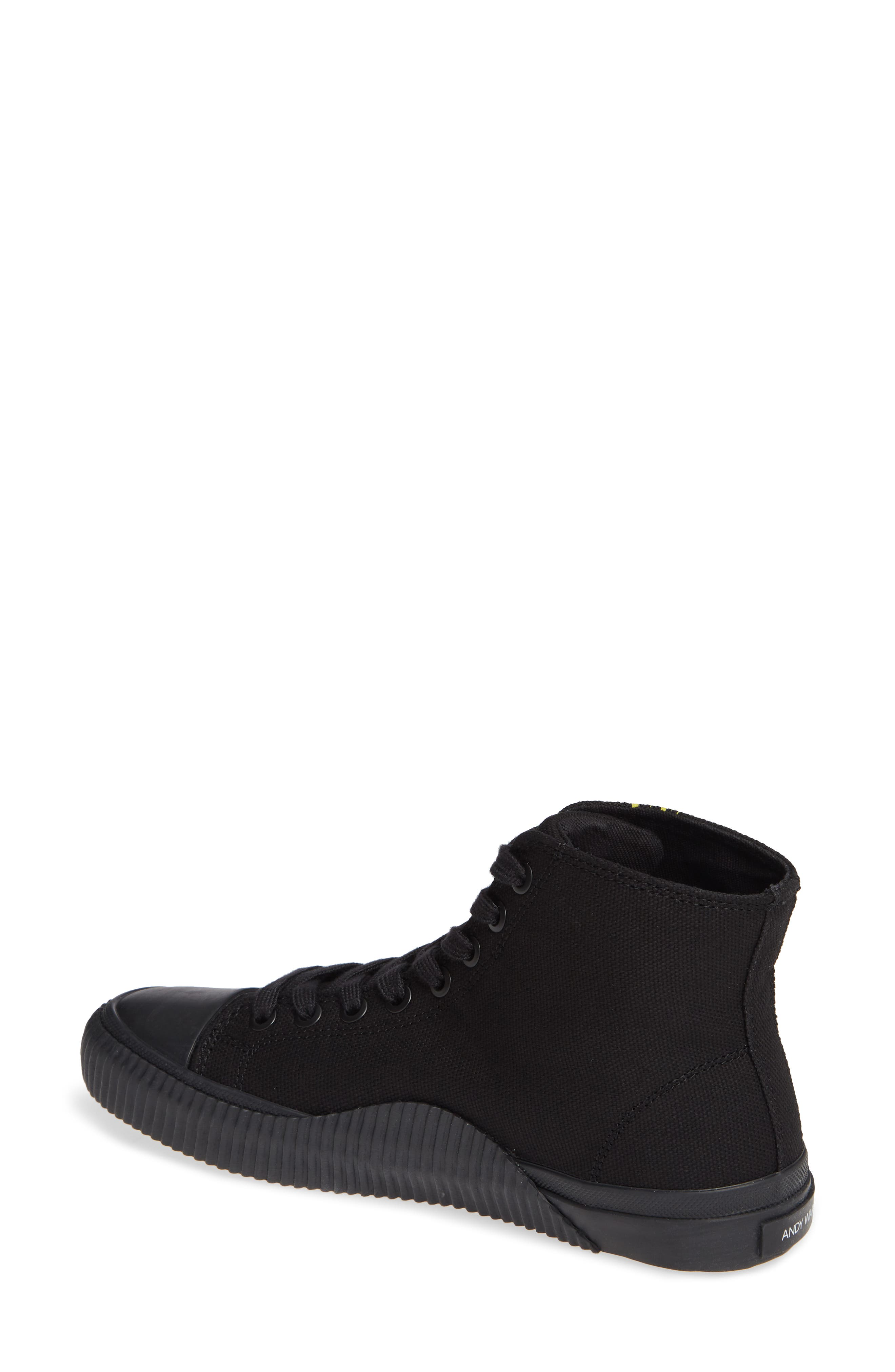 Iconica High Top Sneaker,                             Alternate thumbnail 2, color,                             001