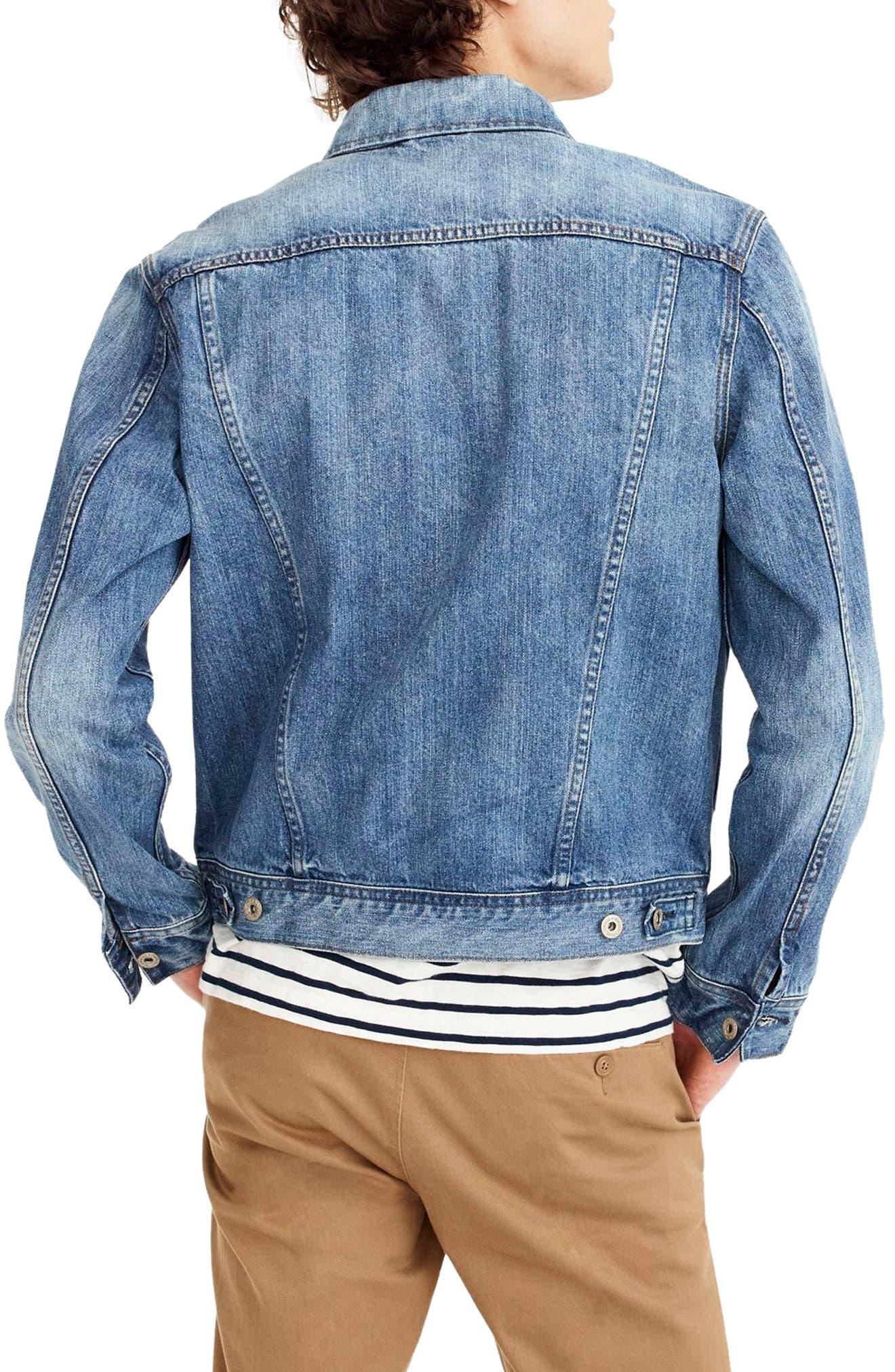 Denim Jacket,                             Alternate thumbnail 2, color,                             404