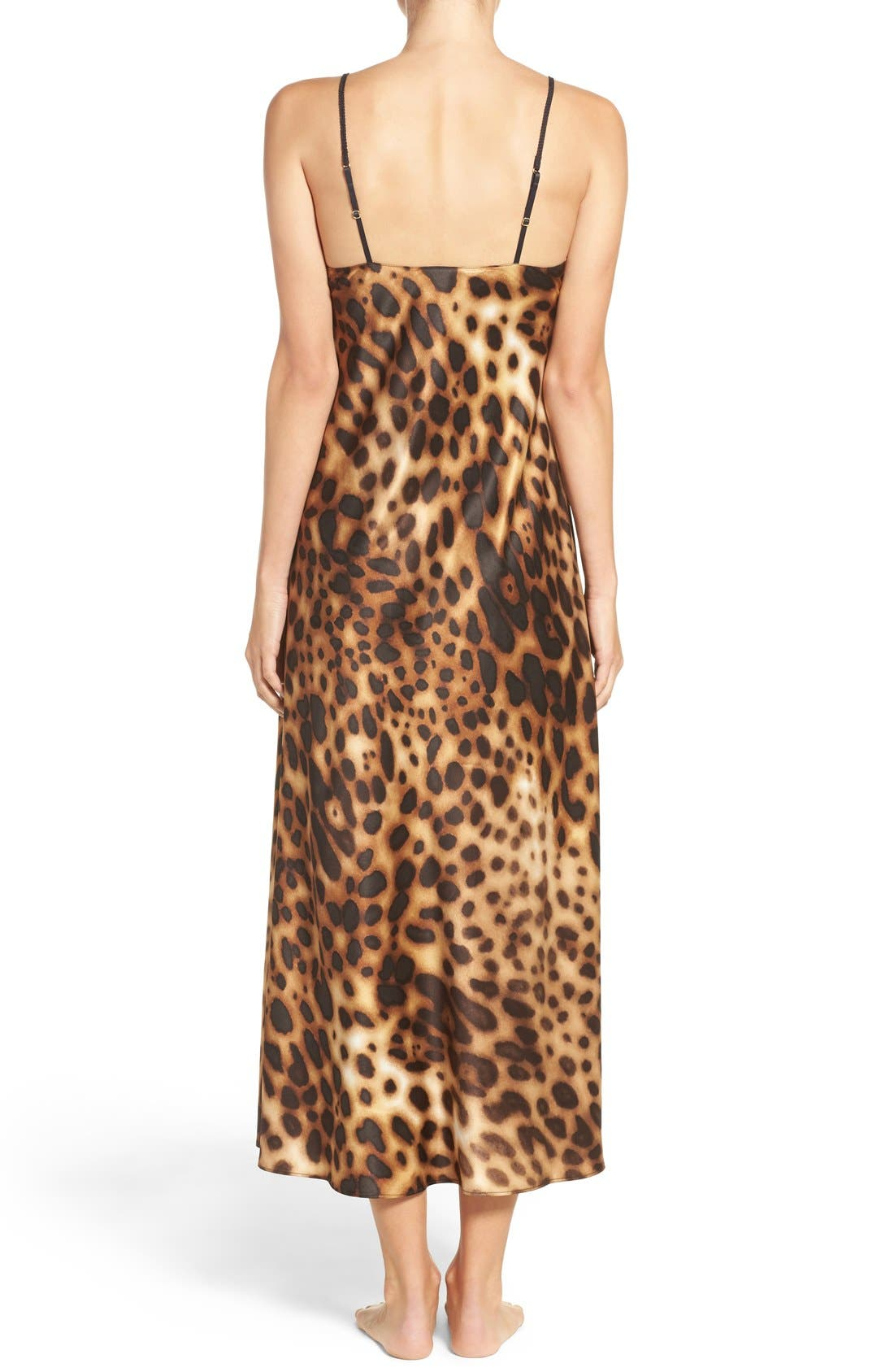 Leopard Nightgown,                             Alternate thumbnail 2, color,                             200