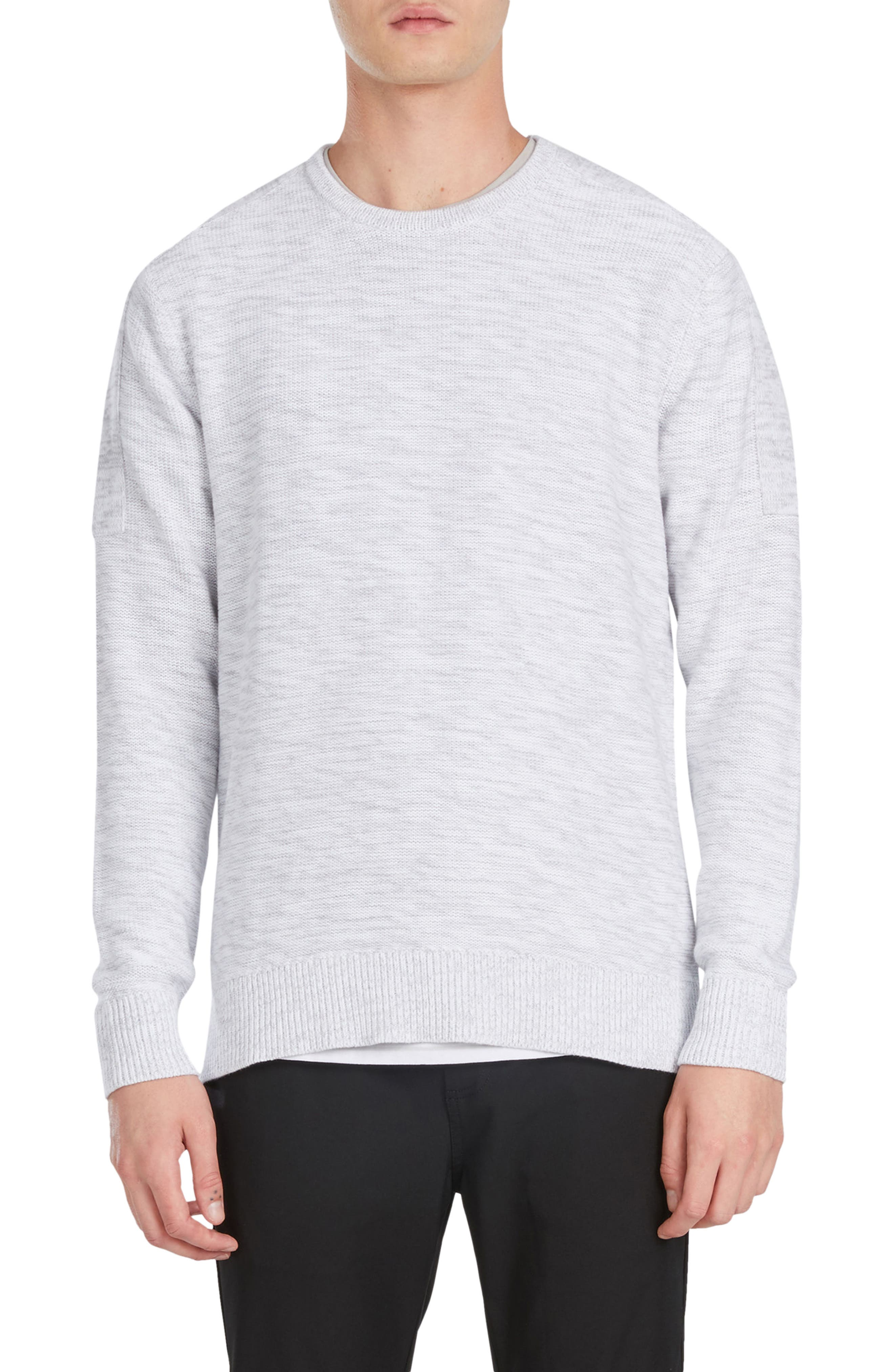 Tube Crew Cotton Sweater,                             Main thumbnail 1, color,                             051