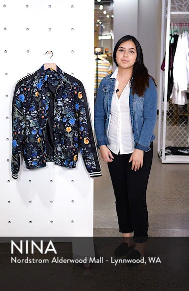 Floral Track Jacket, sales video thumbnail
