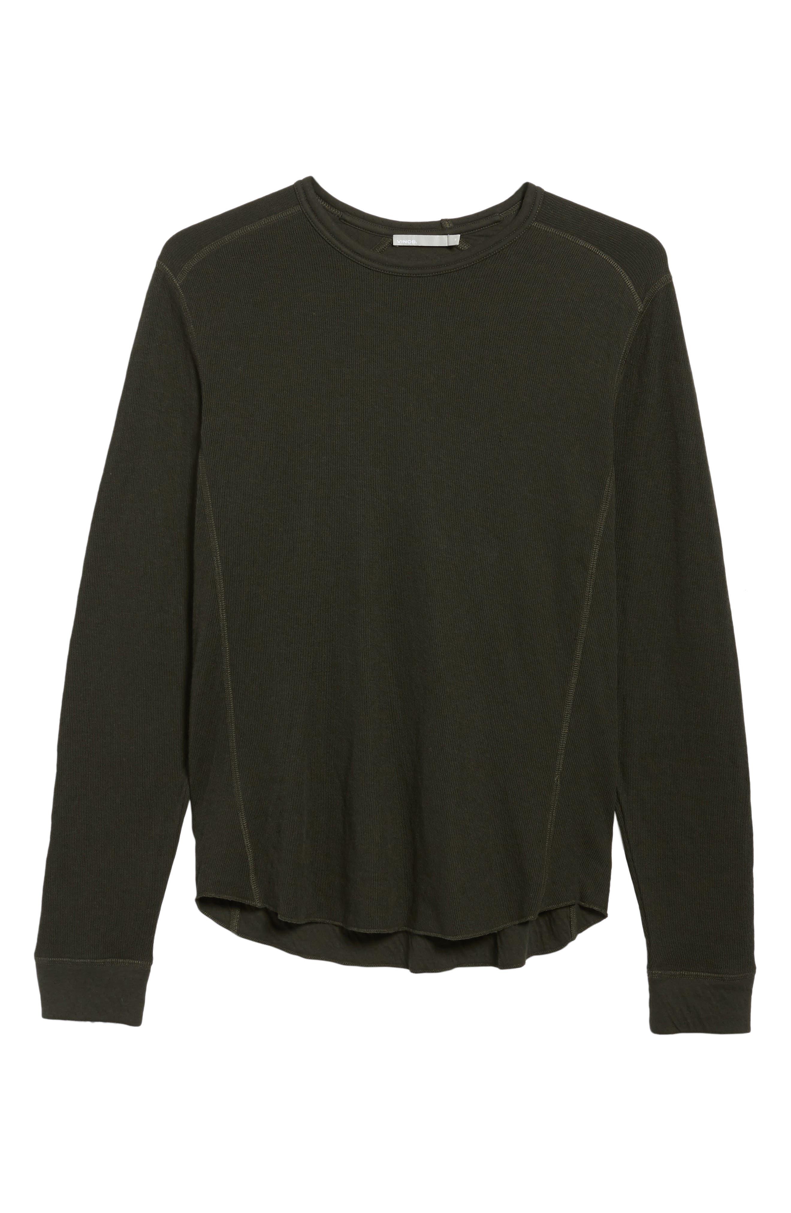Double Knit Long Sleeve T-Shirt,                             Alternate thumbnail 29, color,
