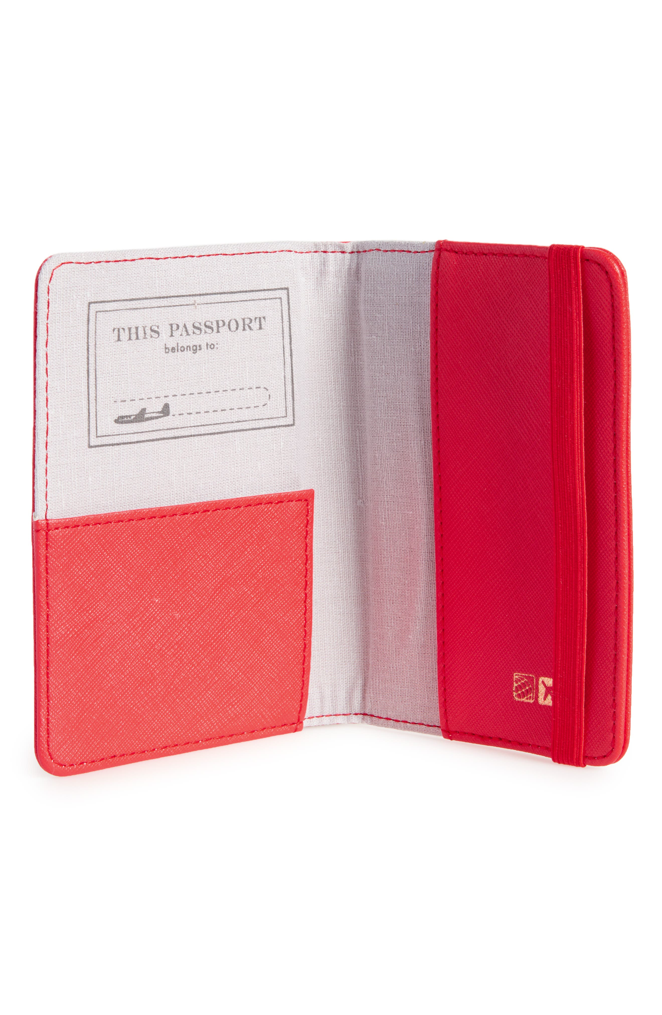 Correspondent Passport Cover,                             Alternate thumbnail 6, color,