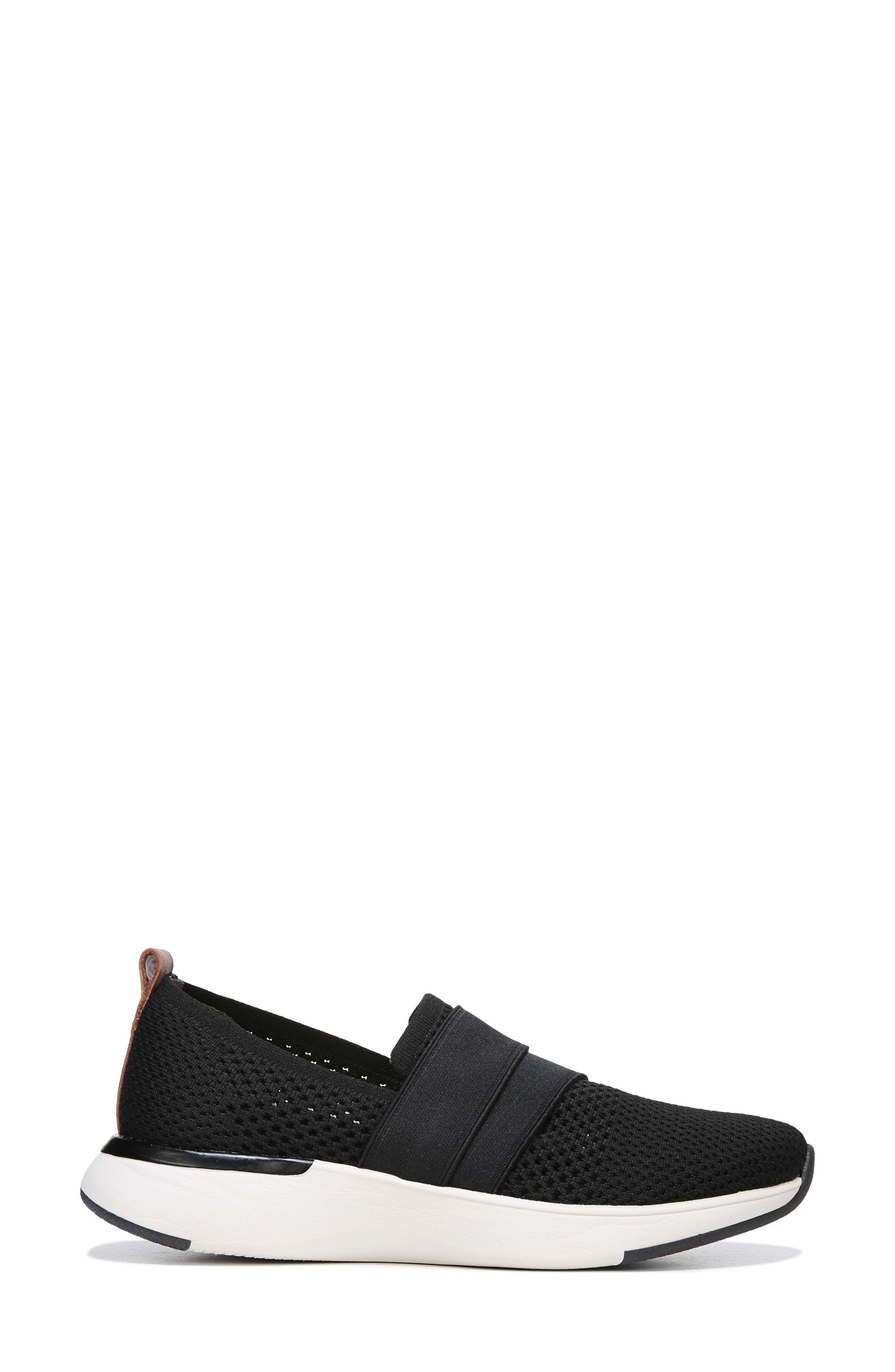 Slay All Day Sneaker,                             Alternate thumbnail 3, color,                             BLACK FABRIC