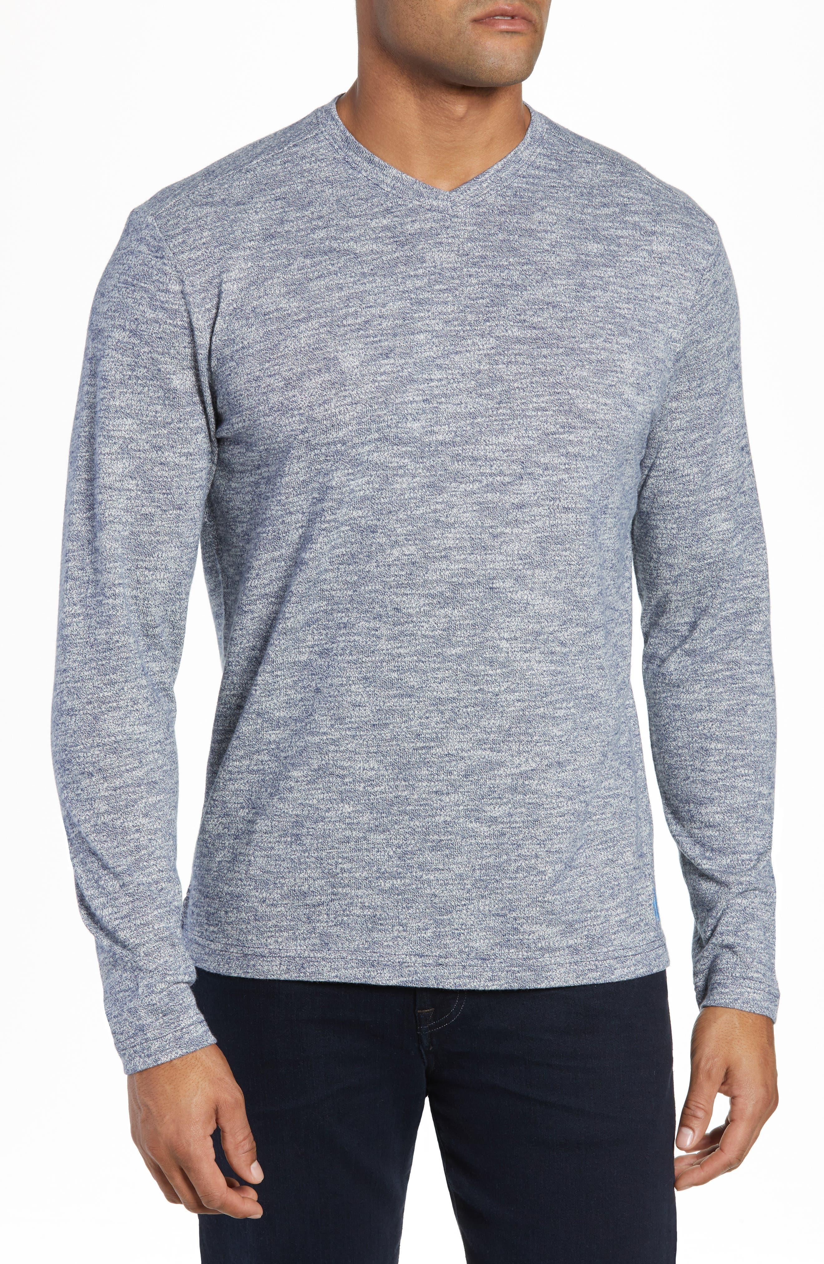 Johnnie-O Cantona Regular Fit Sweater, Blue