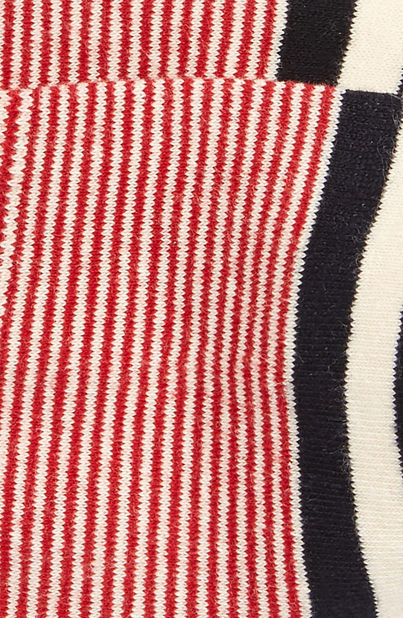Americana No-Show Socks,                             Alternate thumbnail 2, color,                             600