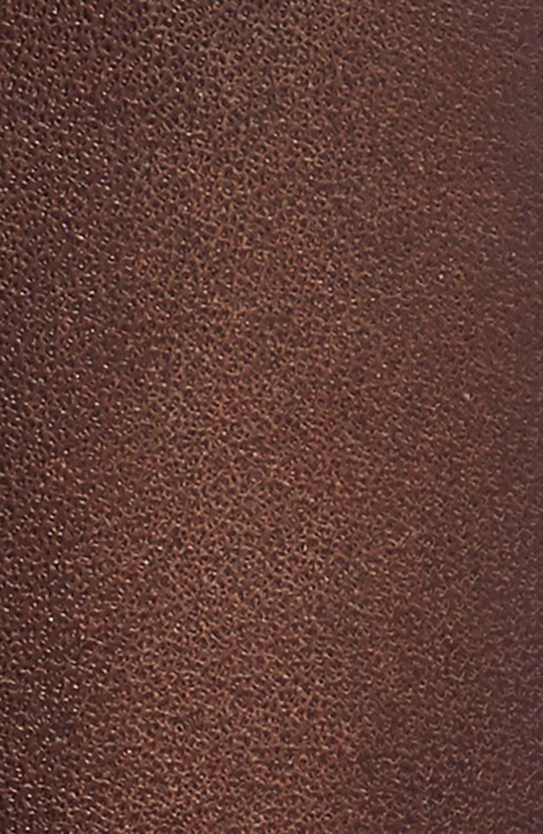 Jet Leather Belt,                             Alternate thumbnail 8, color,