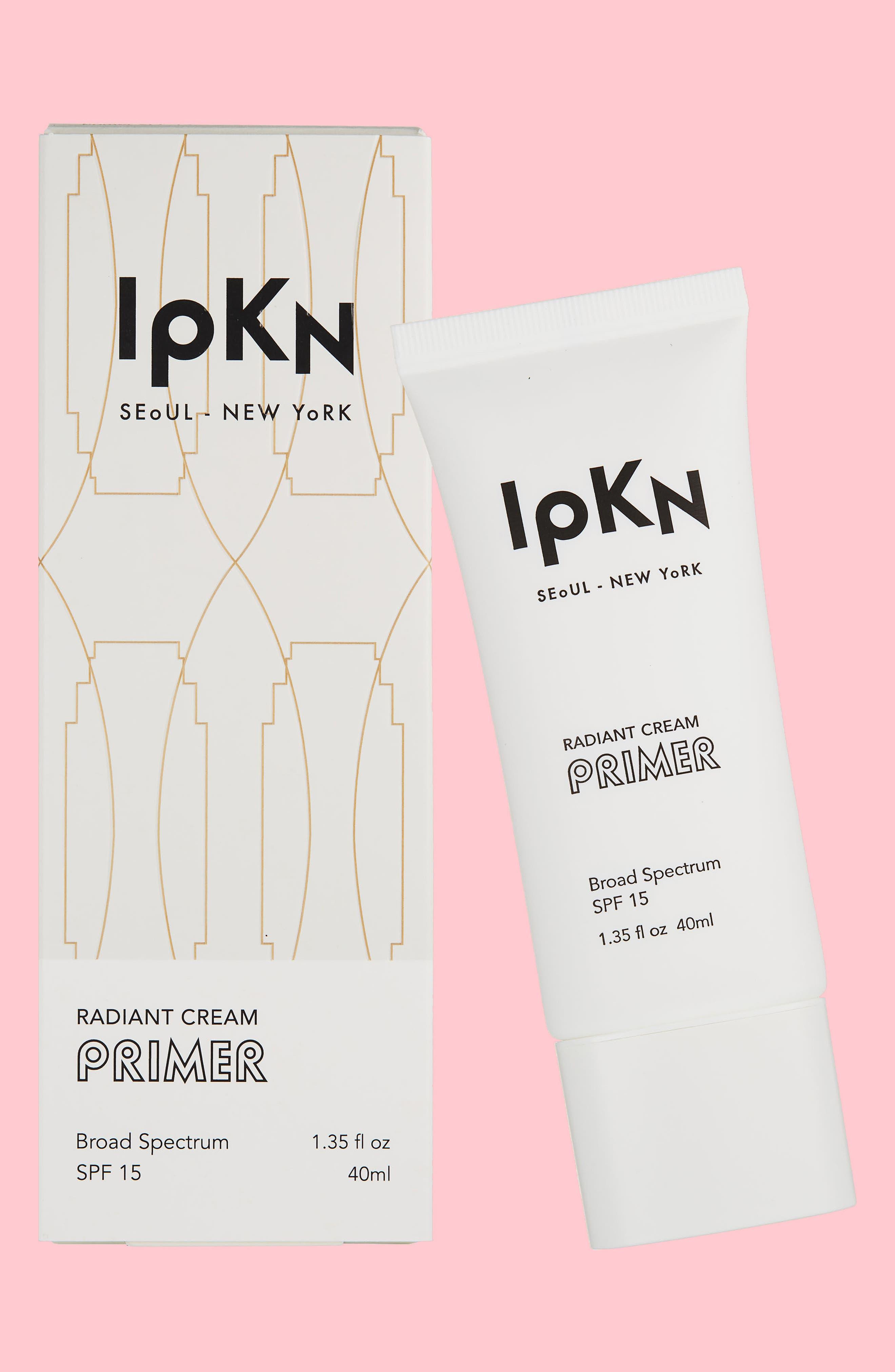 Radiant Cream Primer SPF 15,                             Main thumbnail 1, color,                             WHITE