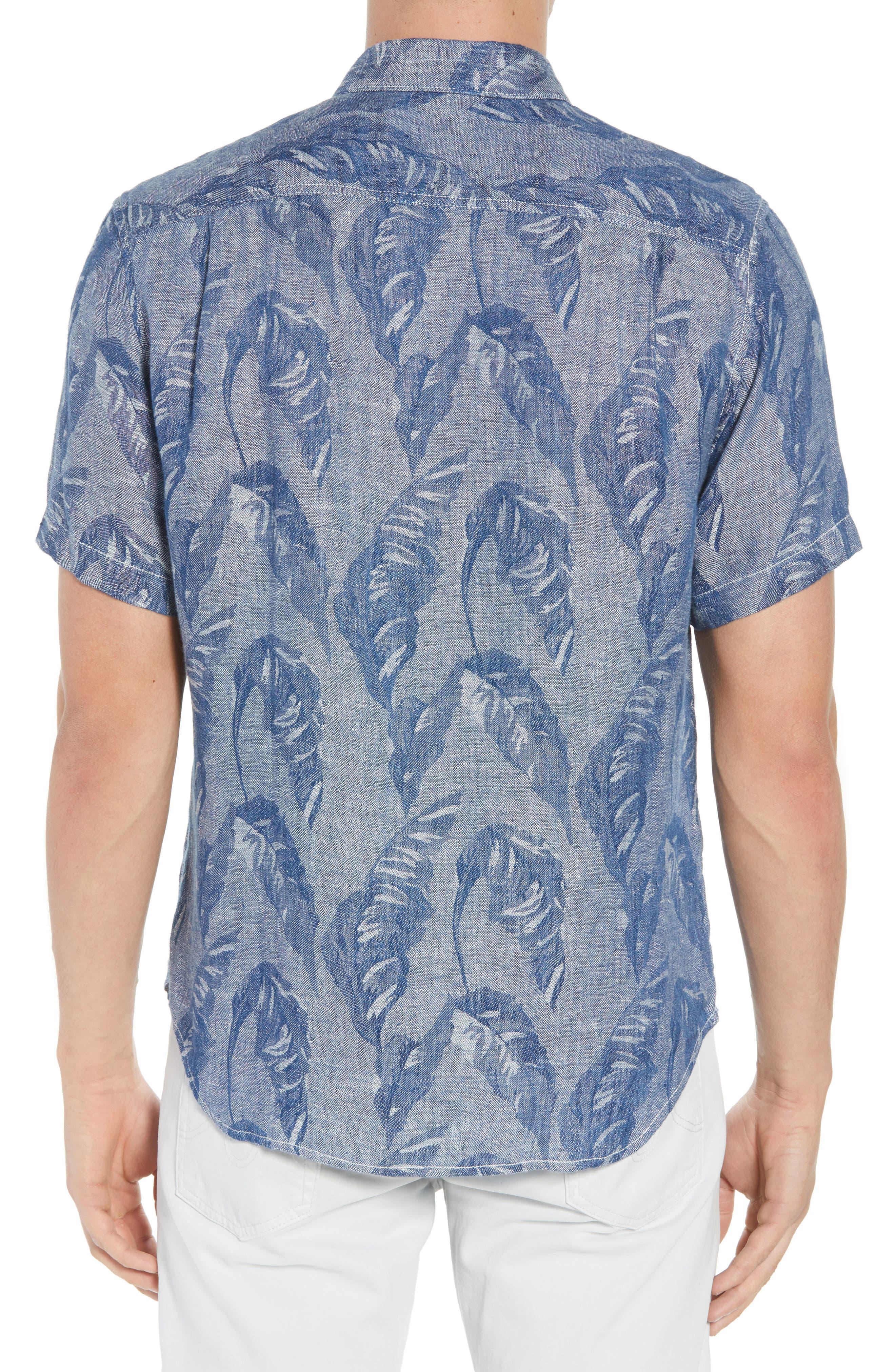 Help Me Fronda Linen Camp Shirt,                             Alternate thumbnail 2, color,                             401