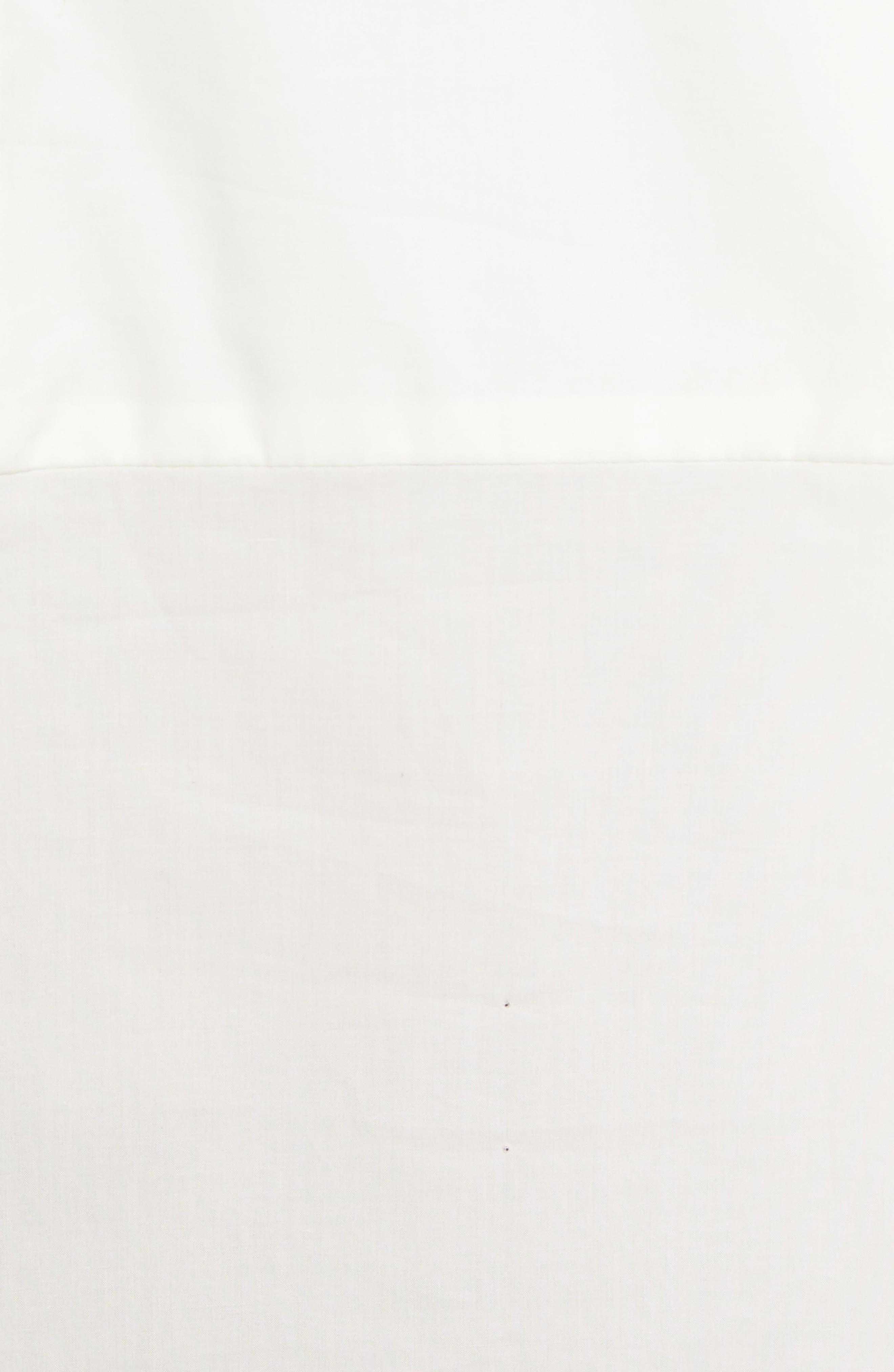 TIBI,                             Bell Sleeve Cotton Poplin Top,                             Alternate thumbnail 5, color,                             104