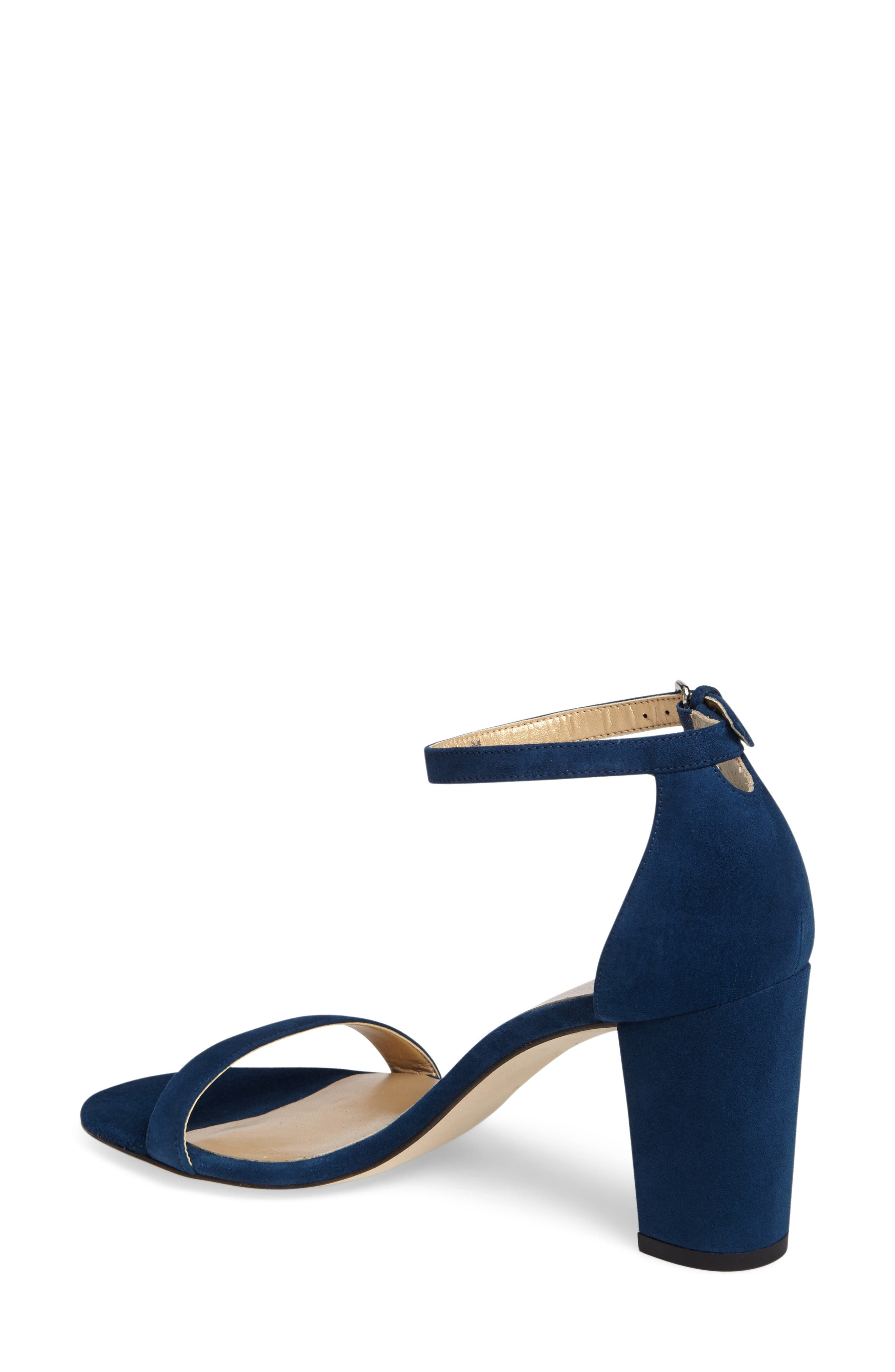 NearlyNude Ankle Strap Sandal,                             Alternate thumbnail 50, color,