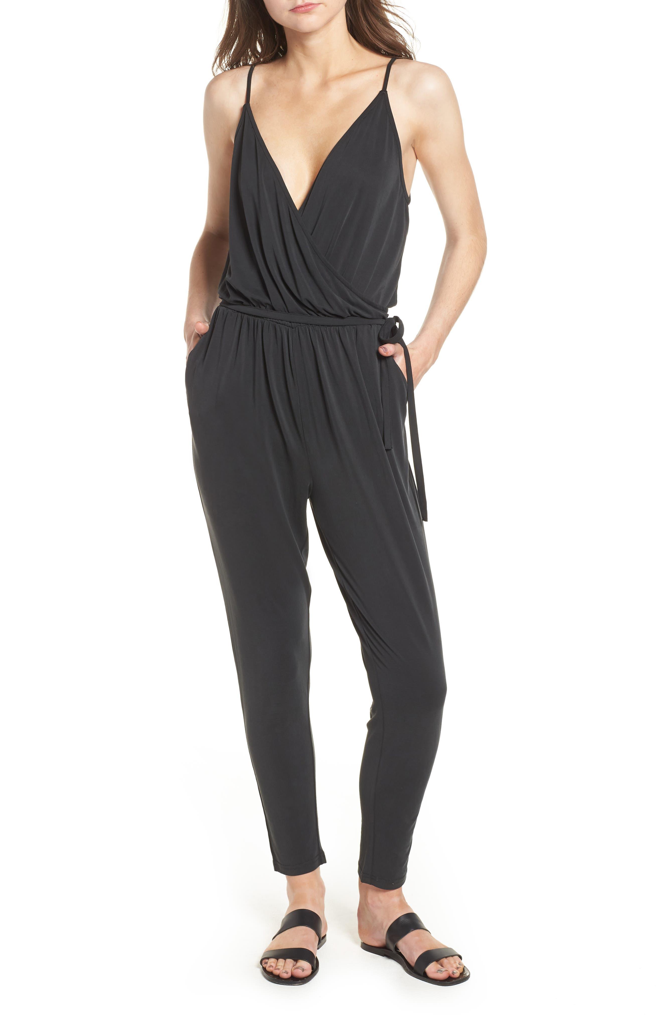 LIRA CLOTHING Marni Jumpsuit, Main, color, 001