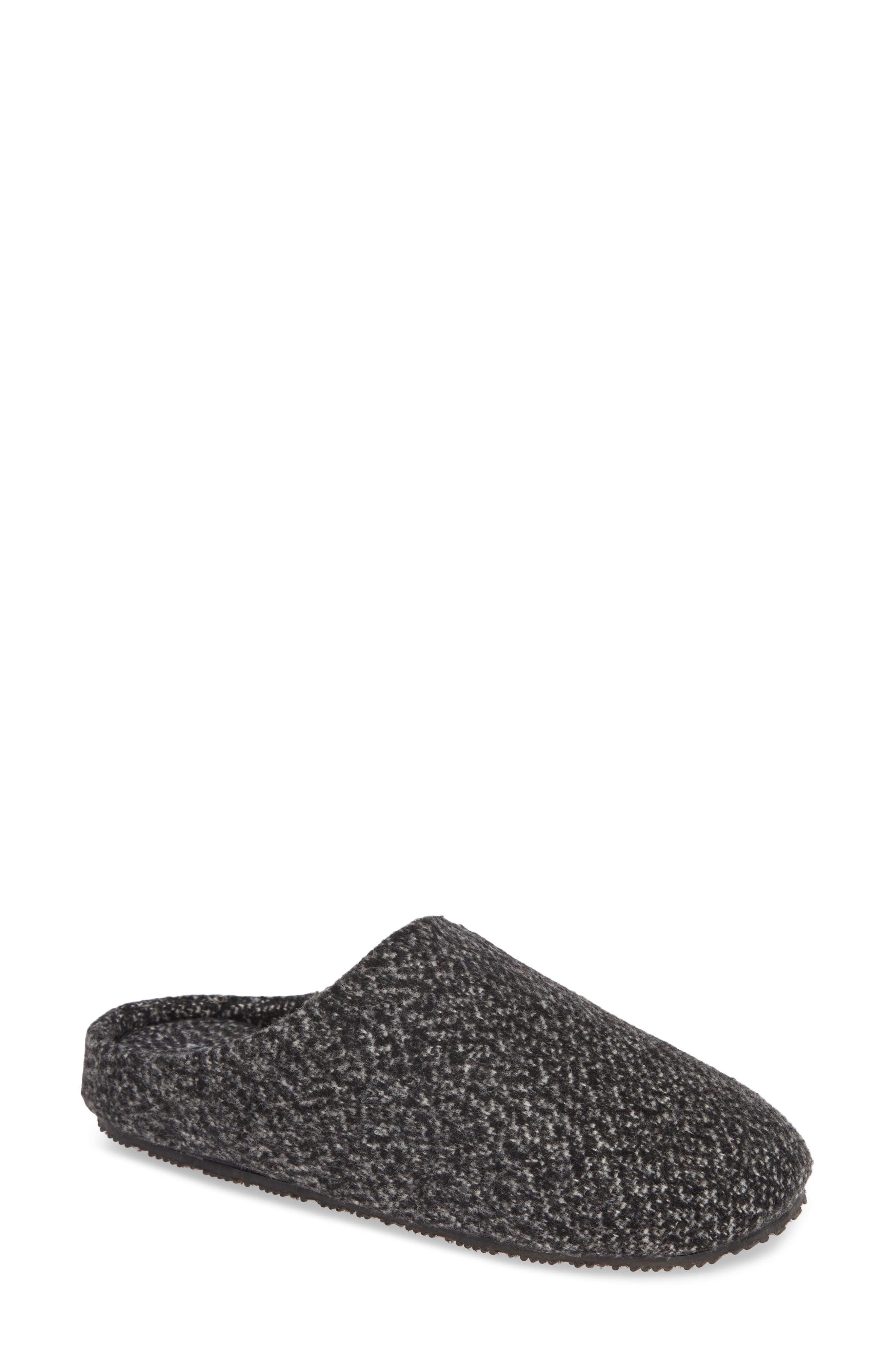 Tillie Memory Foam Slipper,                         Main,                         color, BLACK MULTI