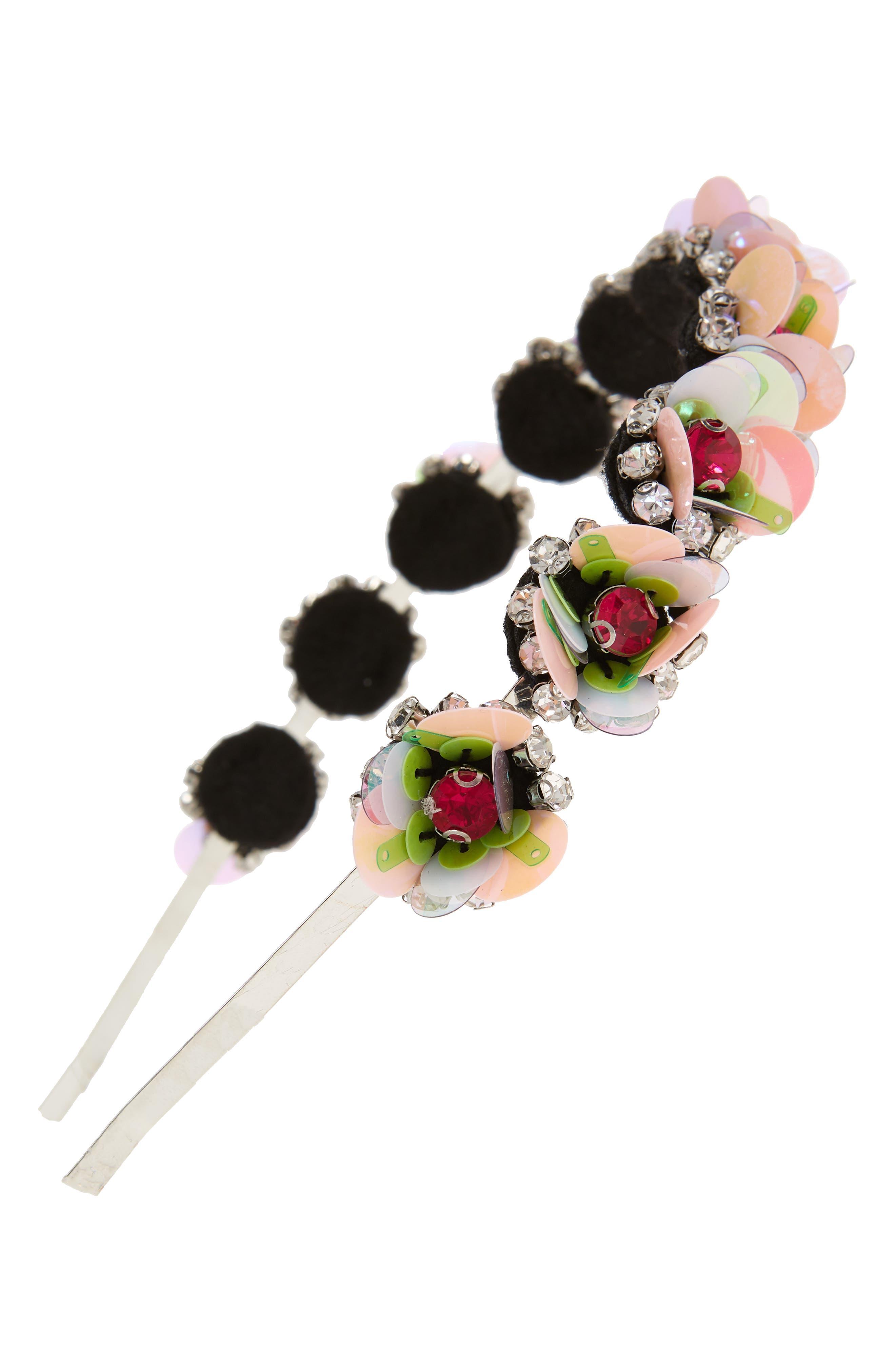 3D Flower Headband,                         Main,                         color, 650