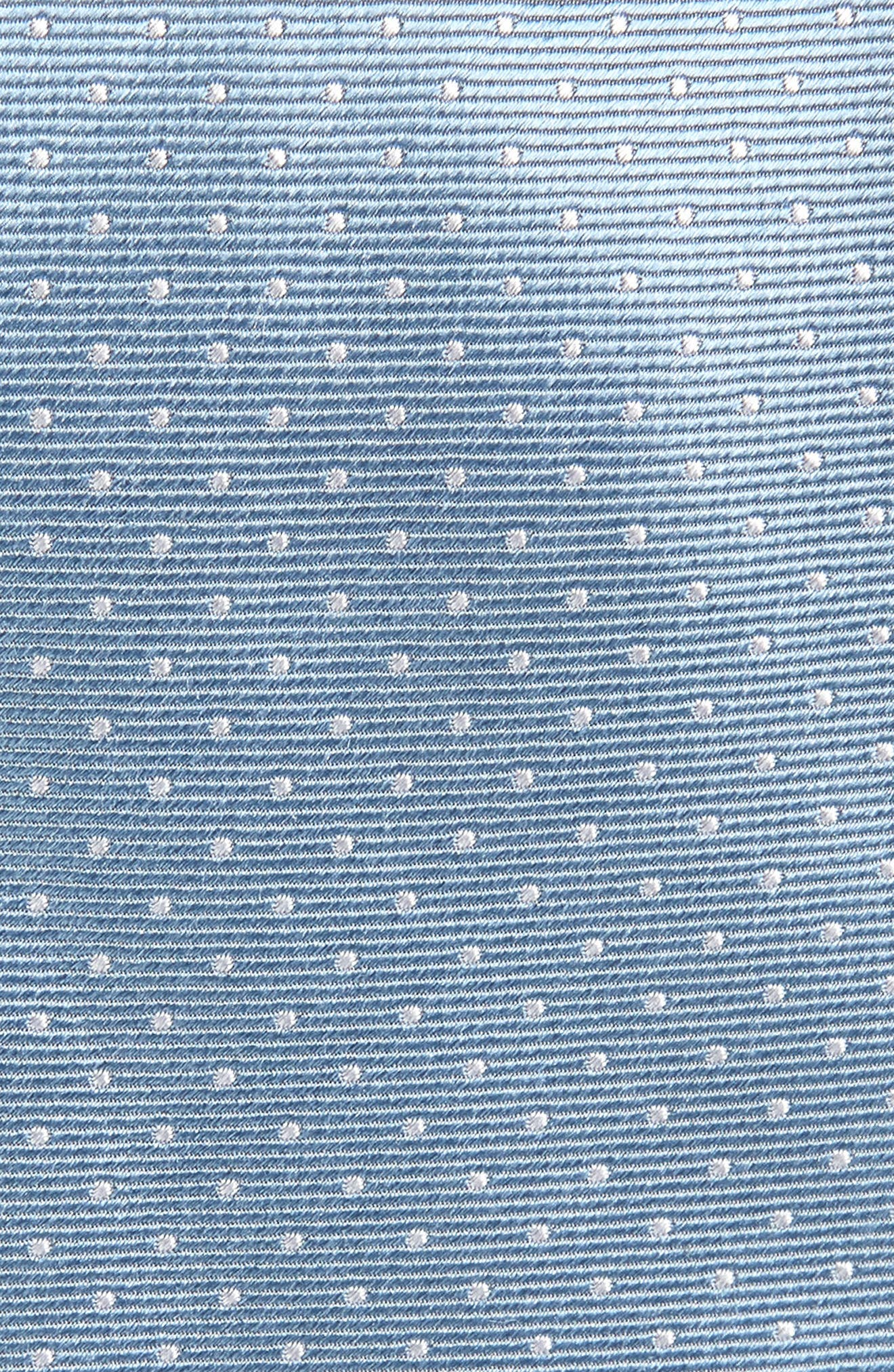 Mini Dots Silk Tie,                             Alternate thumbnail 6, color,