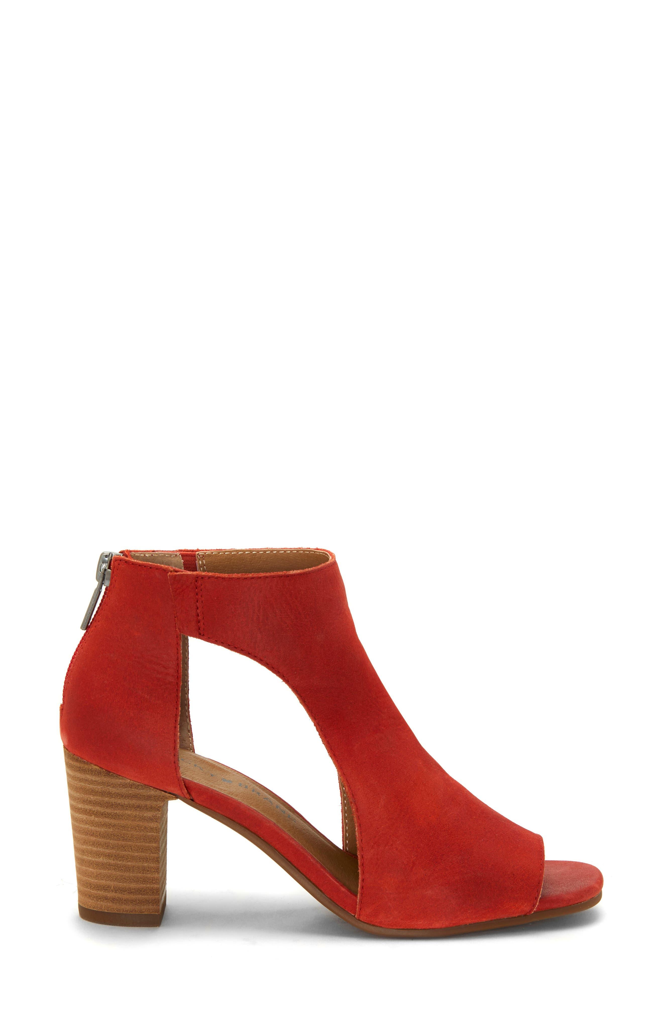 Udine Shield Sandal,                             Alternate thumbnail 3, color,                             TANDORI LEATHER