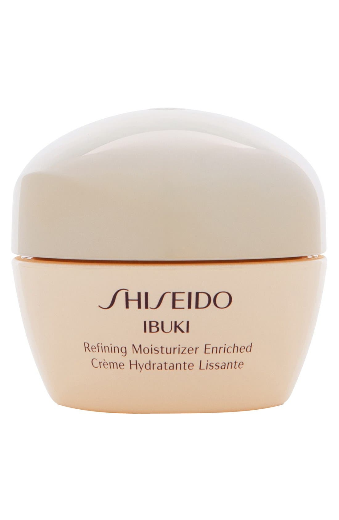 SHISEIDO,                             Ibuki Refining Moisturizer Enriched,                             Main thumbnail 1, color,                             NO COLOR