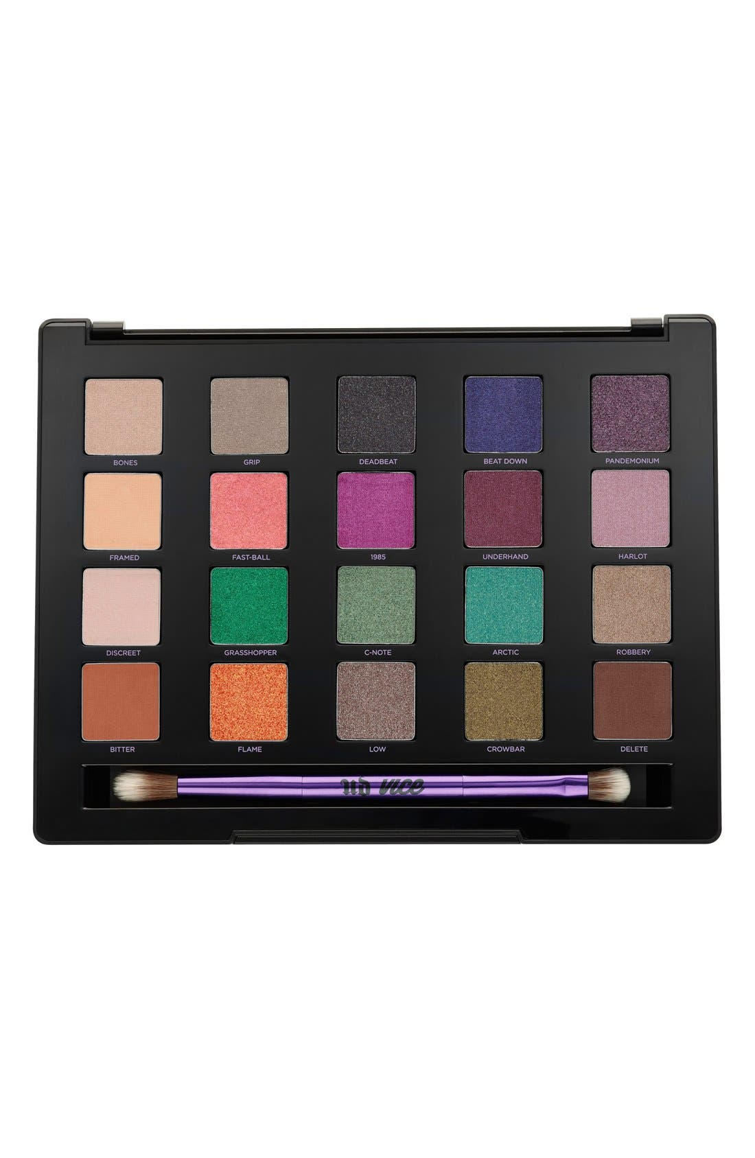 'Vice4' Eyeshadow Palette,                             Alternate thumbnail 5, color,                             000