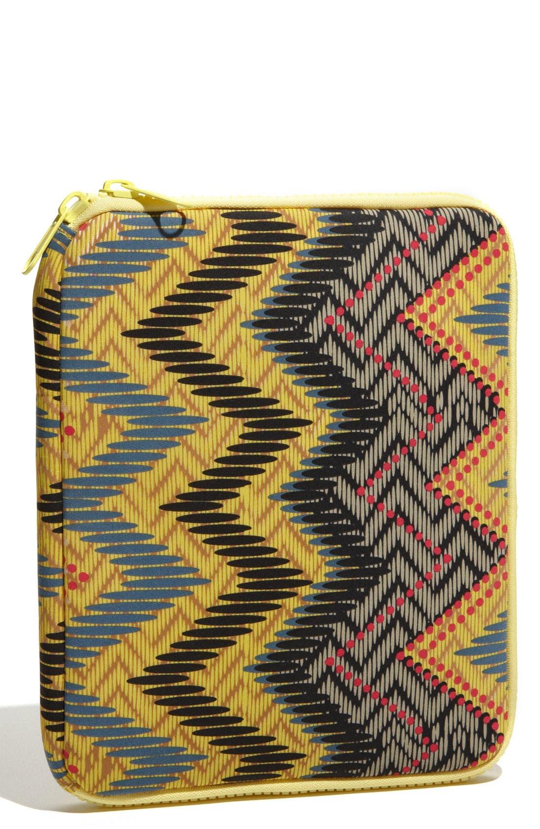 LULU,                             Geometric Printed iPad Case,                             Alternate thumbnail 3, color,                             011