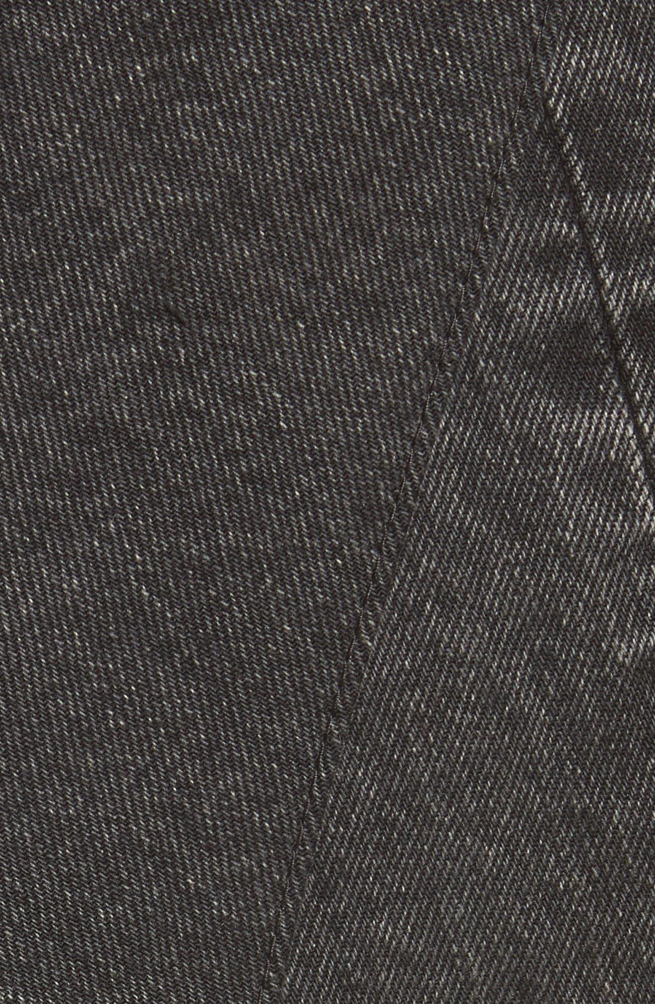 Patchwork Denim Tunic,                             Alternate thumbnail 5, color,                             001