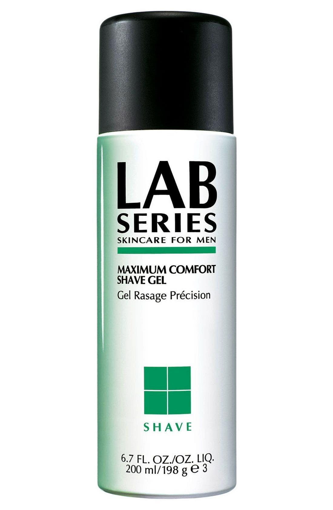 Maximum Comfort Shave Gel,                             Main thumbnail 1, color,                             000