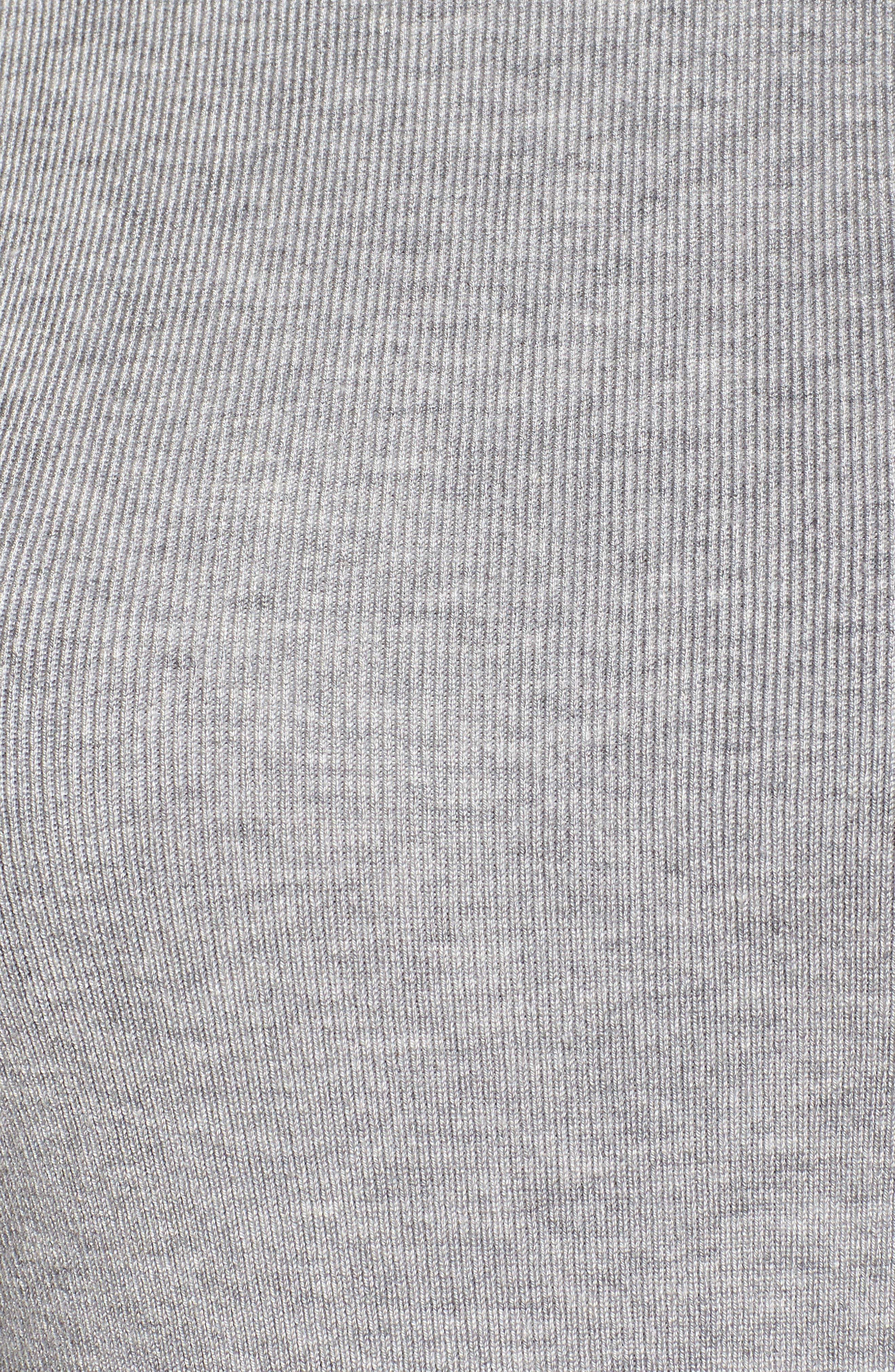 Sequin Mock Neck Sweater,                             Alternate thumbnail 5, color,                             030